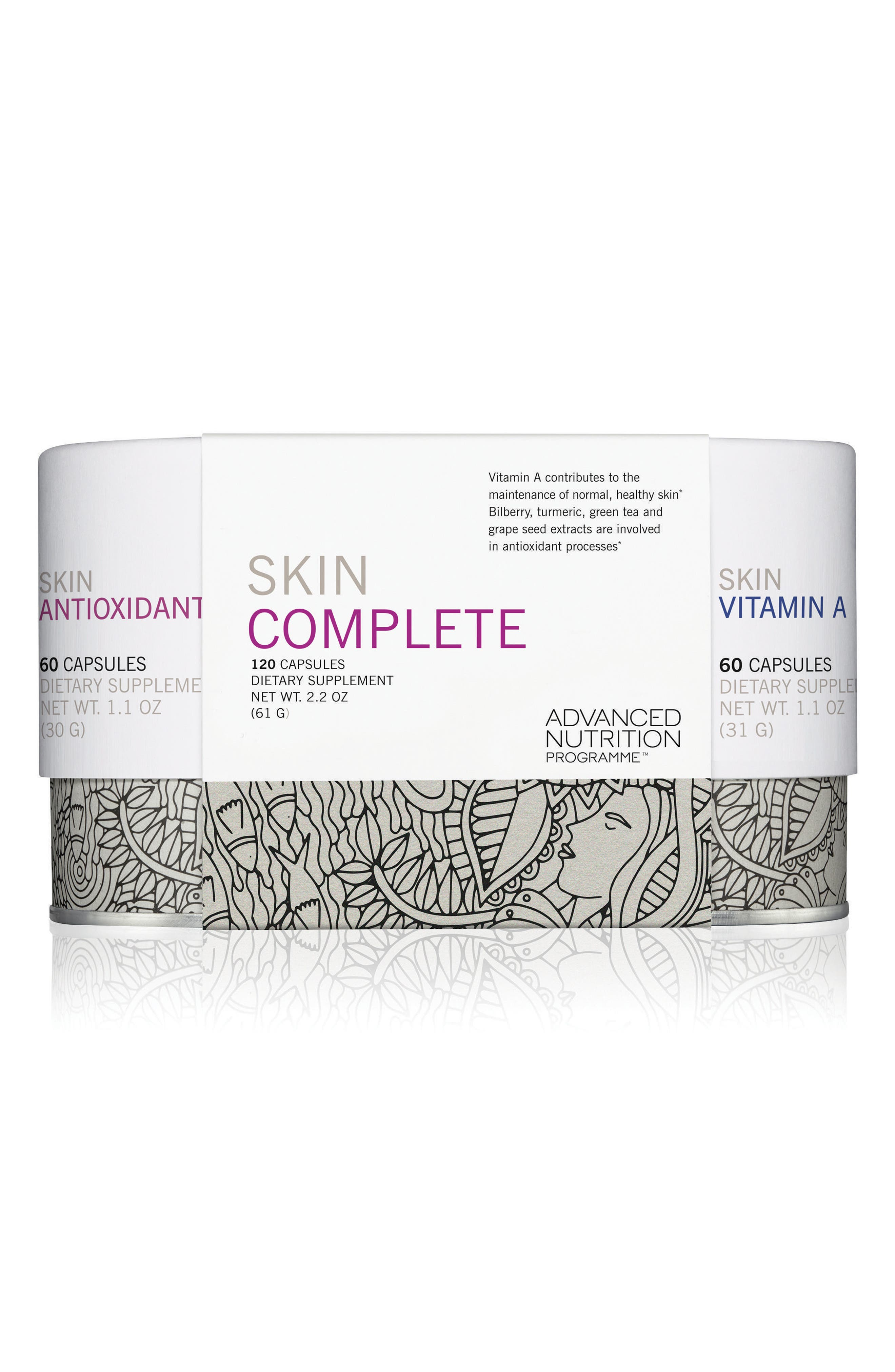 Skin Complete Dietary Supplement Duo,                             Main thumbnail 1, color,                             No Color