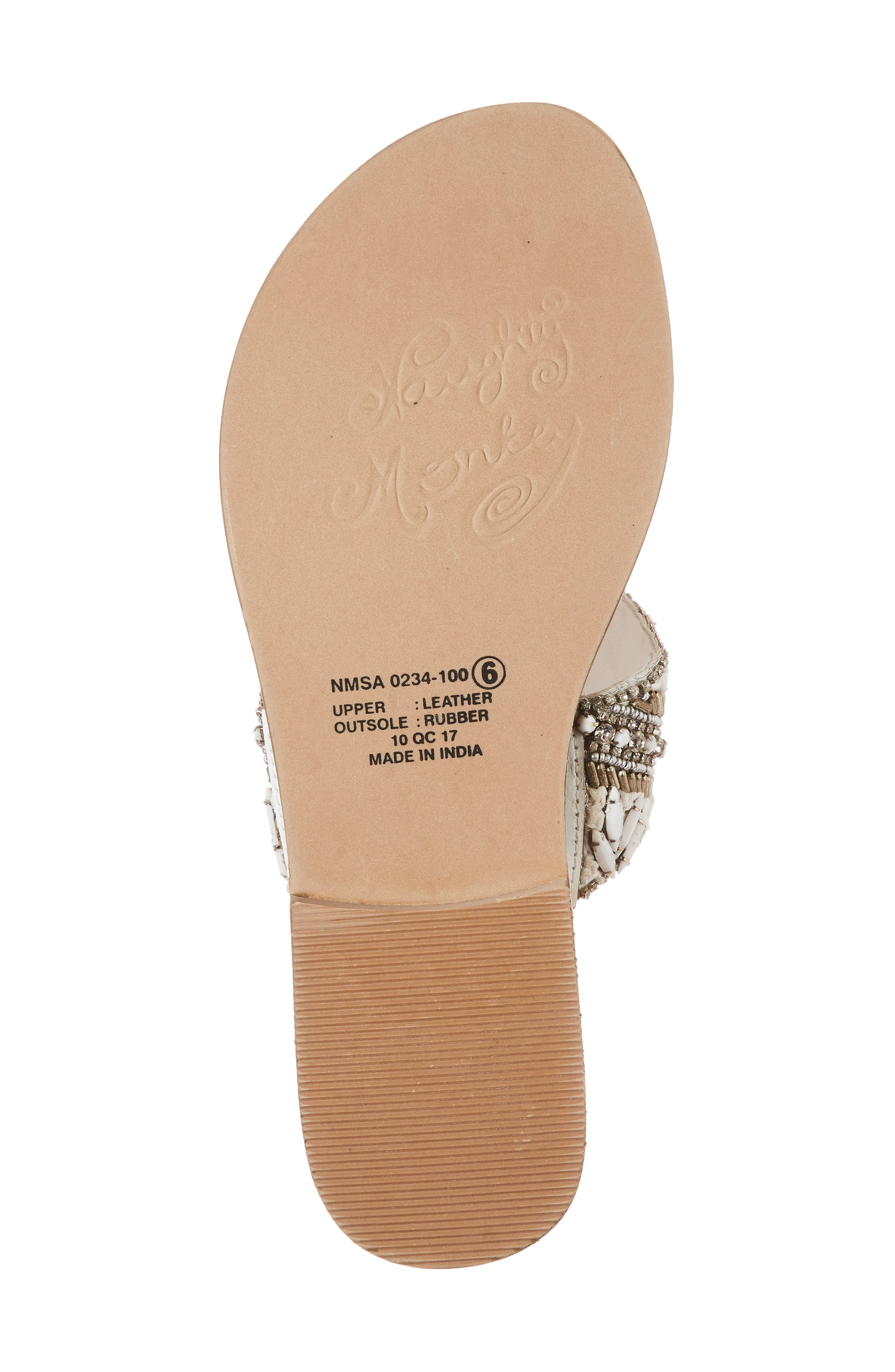 Alternate Image 6  - Naughty Monkey Beaded Sandal (Women)