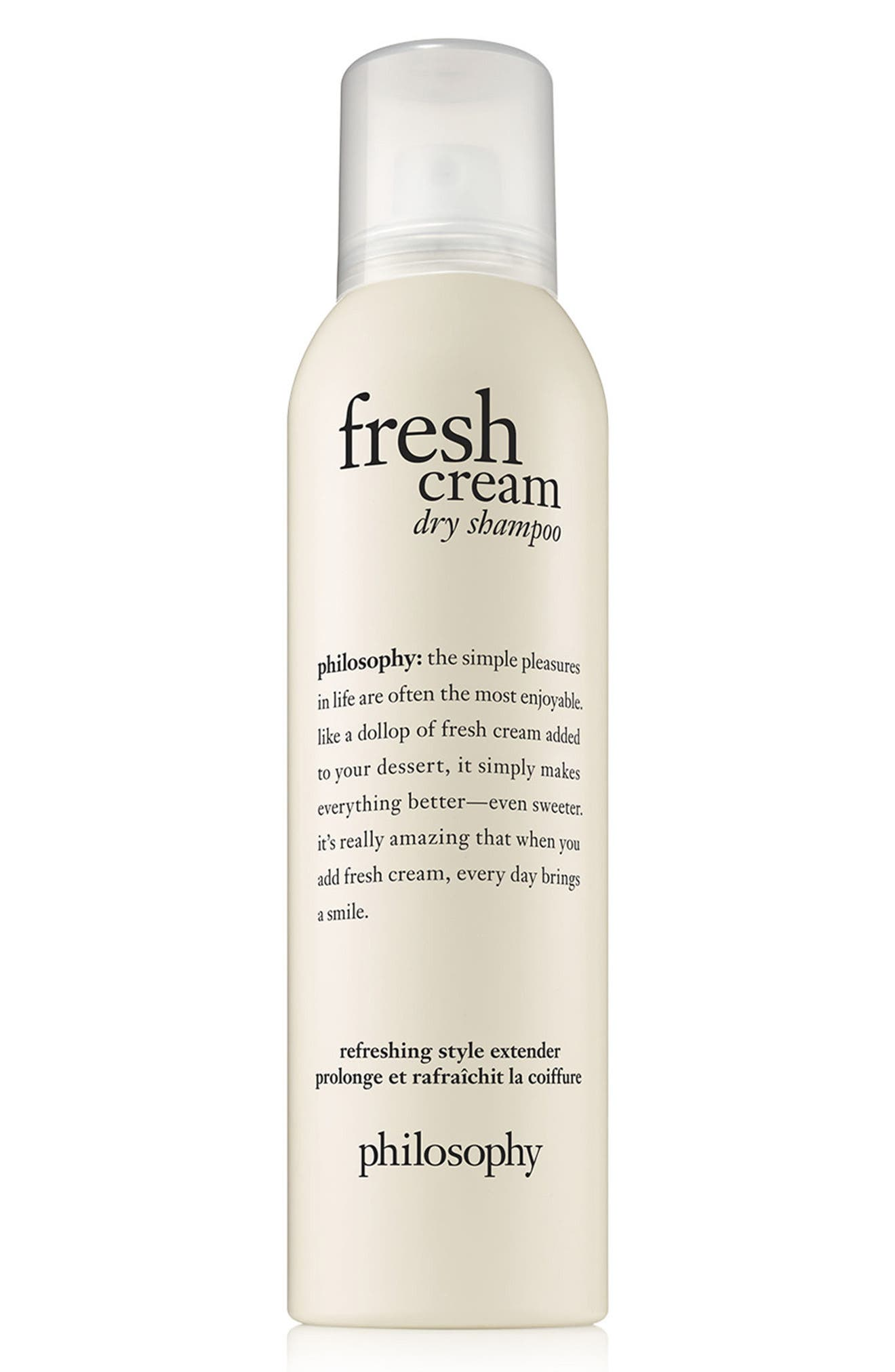 fresh cream dry shampoo,                             Main thumbnail 1, color,                             No Color