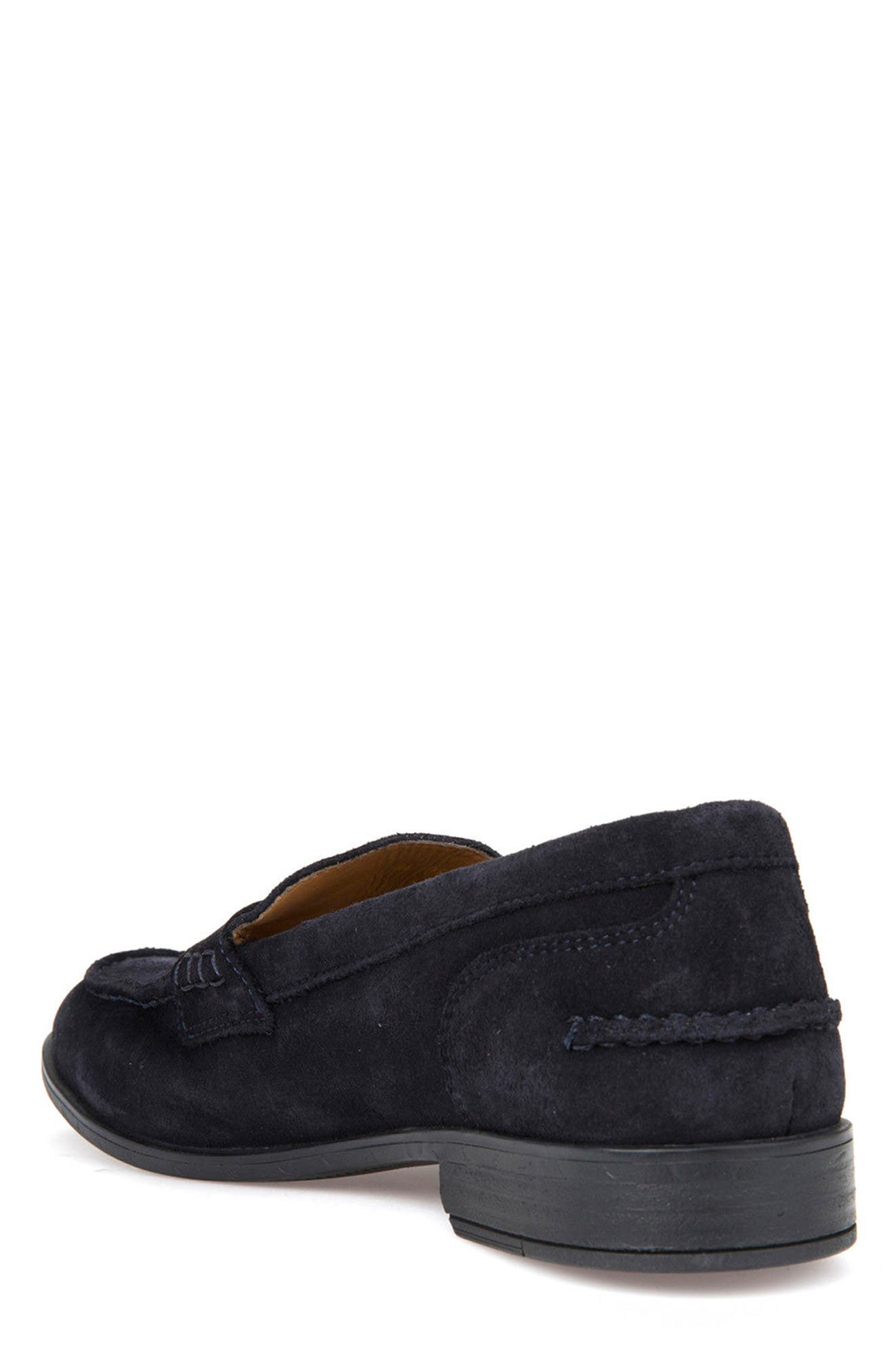 Bryceton 1 Tassel Loafer,                             Alternate thumbnail 2, color,                             Navy Suede