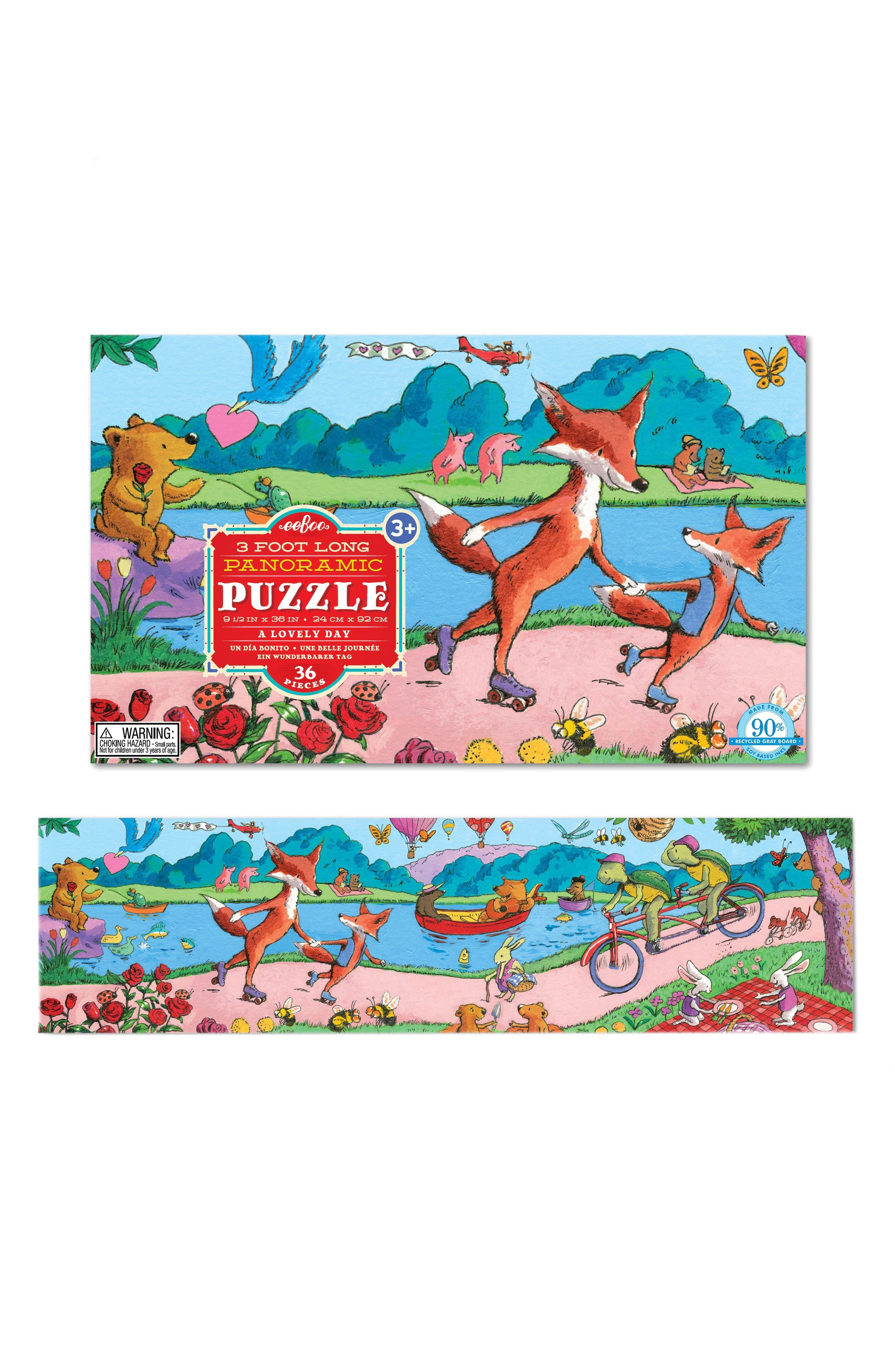 A Lovely Day 36-Piece Puzzle,                             Alternate thumbnail 2, color,                             Red