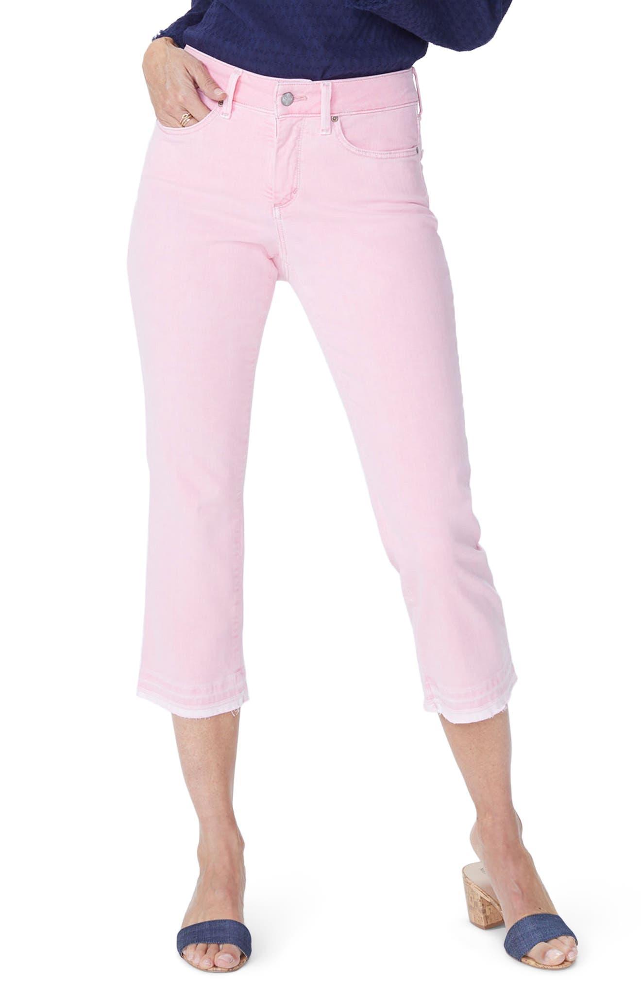 NYDJ Release Hem Capri Skinny Jeans