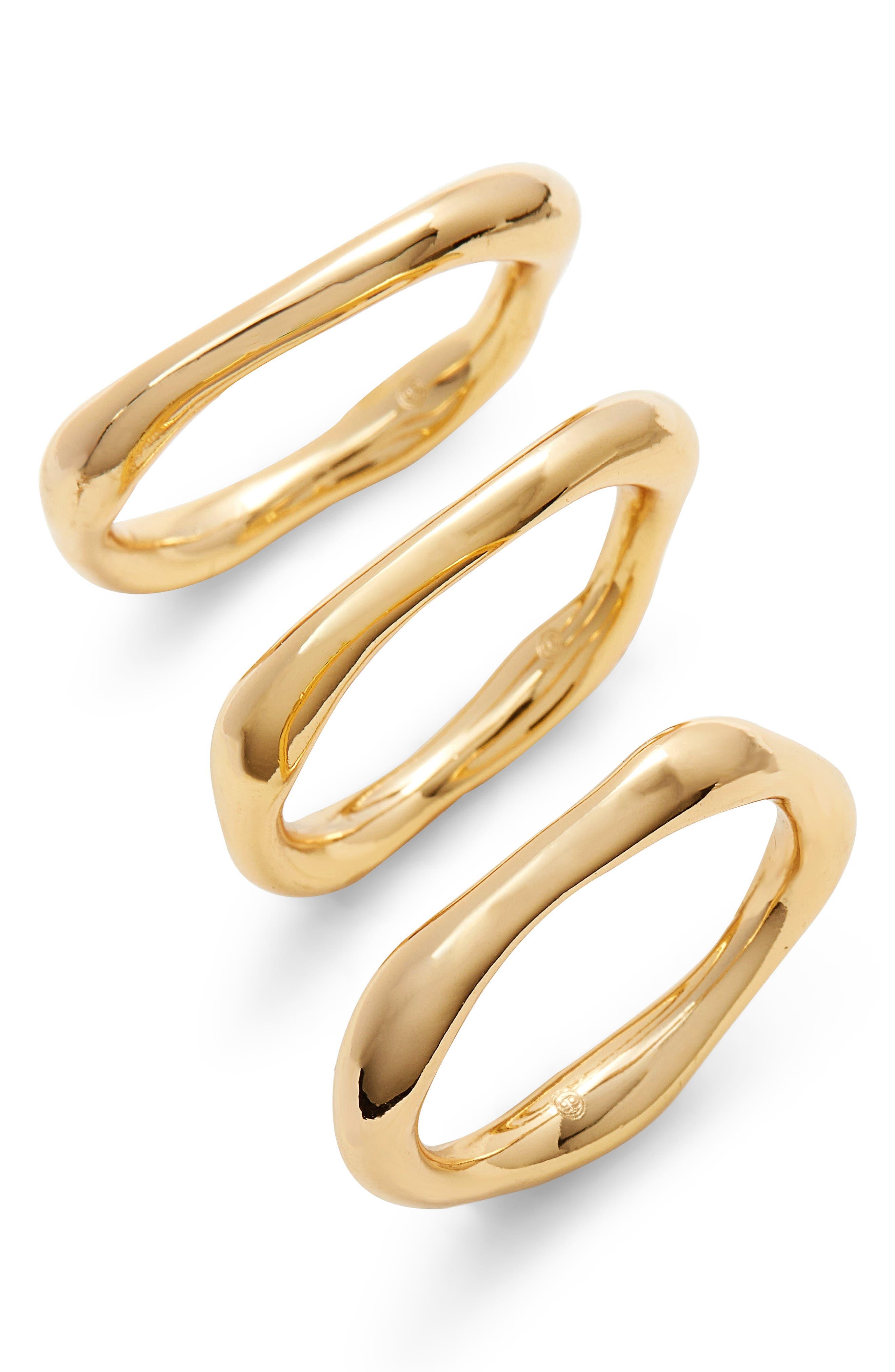 gorjana Quinn Set of 3 Rings