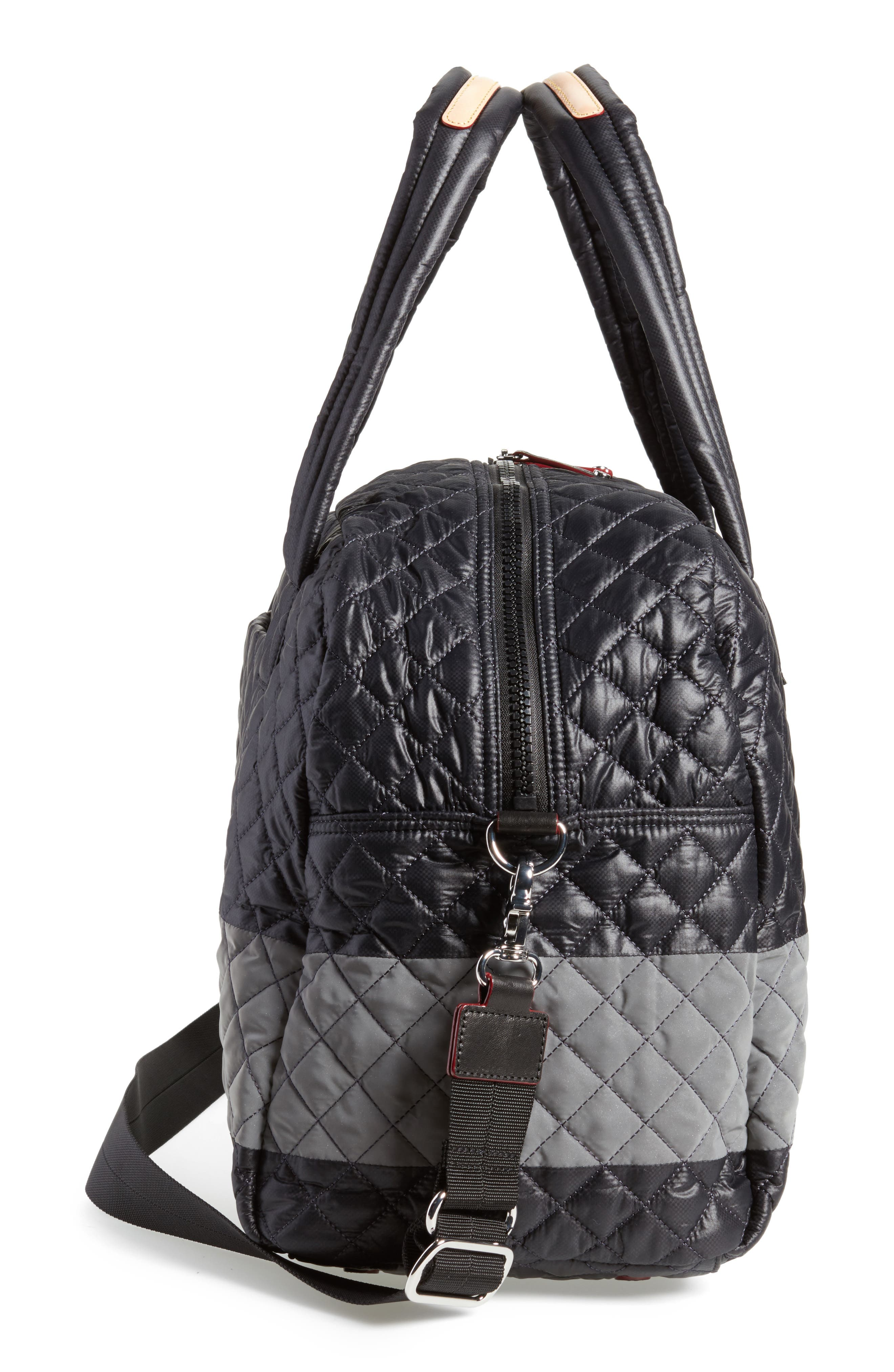 Alternate Image 4  - MZ Wallace Jim Quilted Nylon Duffel Bag