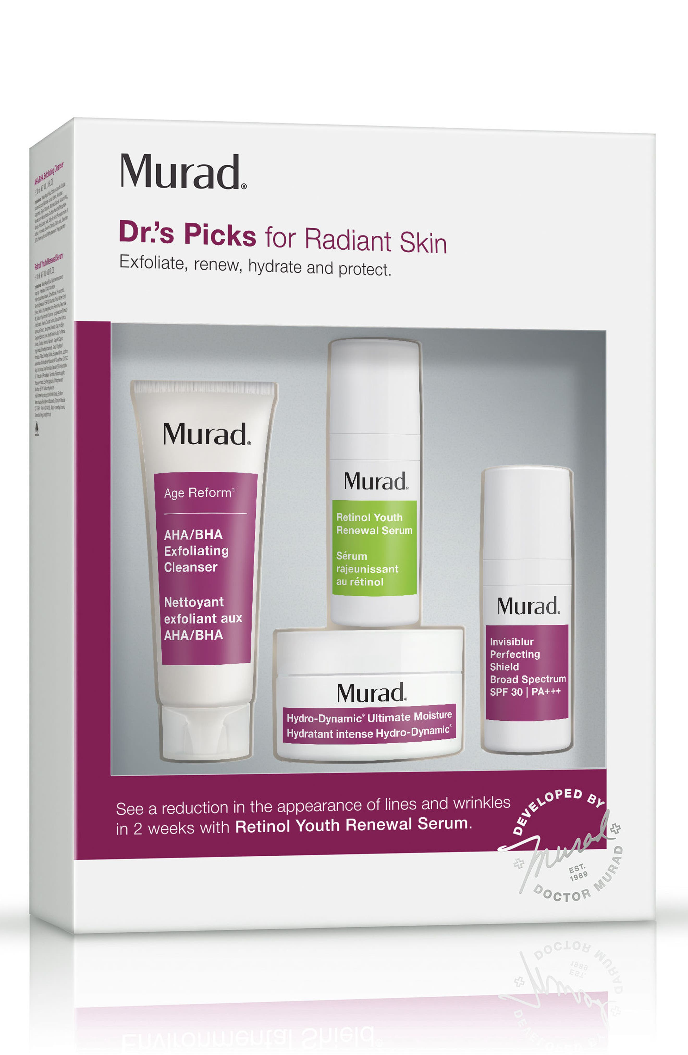 Dr.'s Picks for Radiant Skin Collection,                             Main thumbnail 1, color,                             No Color