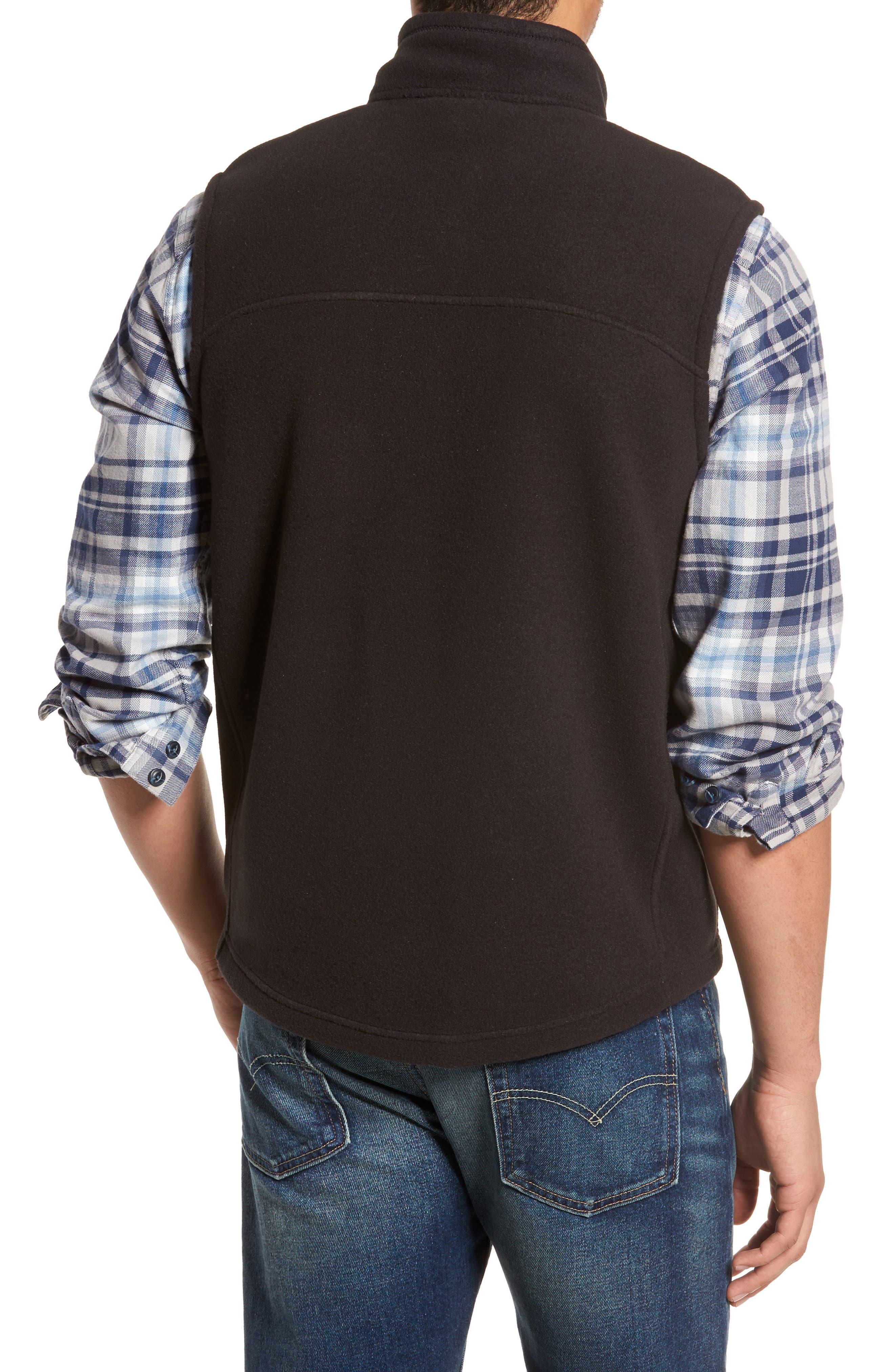 Classic Synchilla<sup>®</sup> Fleece Vest,                             Alternate thumbnail 2, color,                             Black