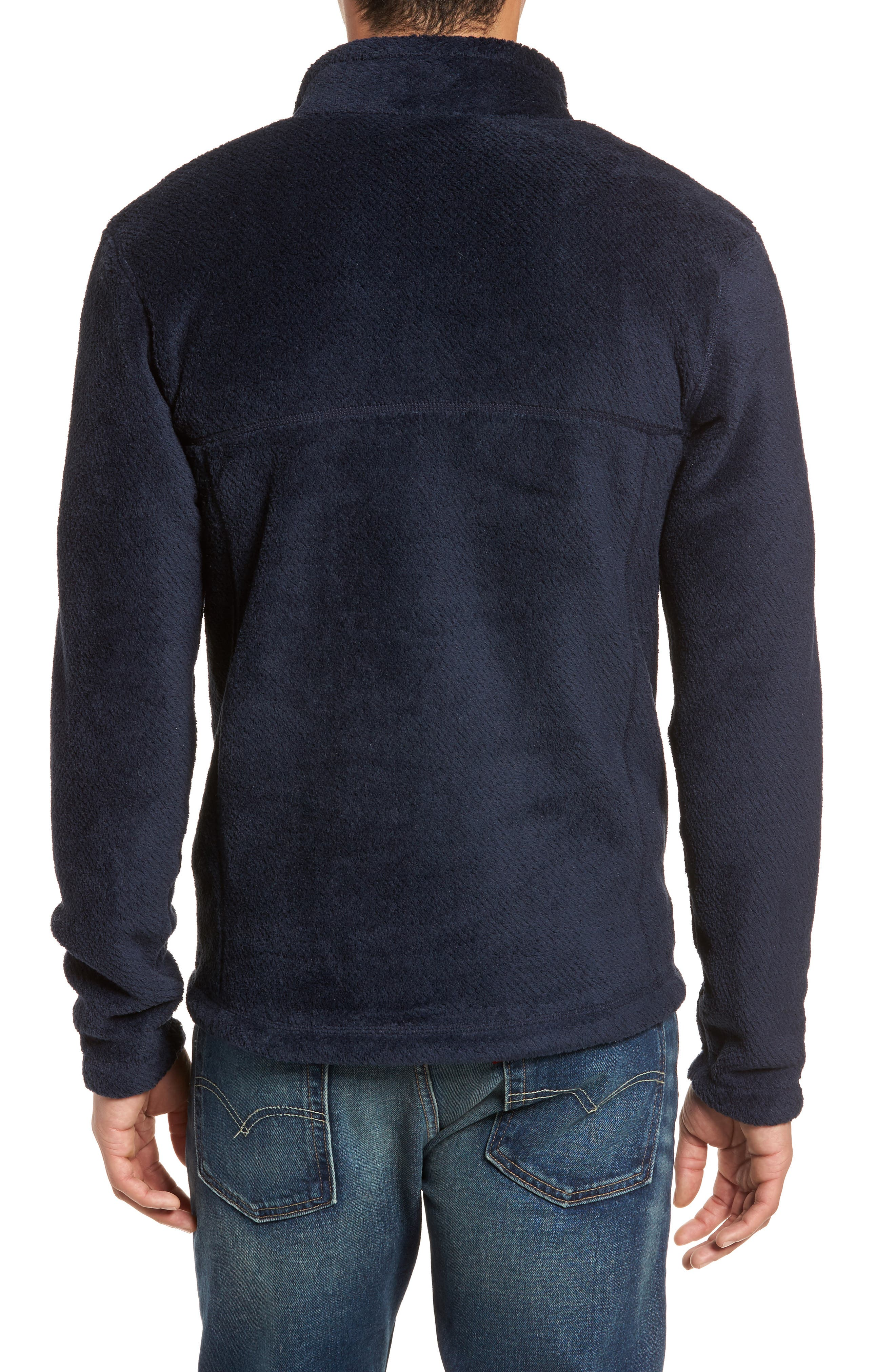 Re-Tool Snap-T<sup>®</sup> Pullover,                             Alternate thumbnail 2, color,                             Navy Blue X-Dye