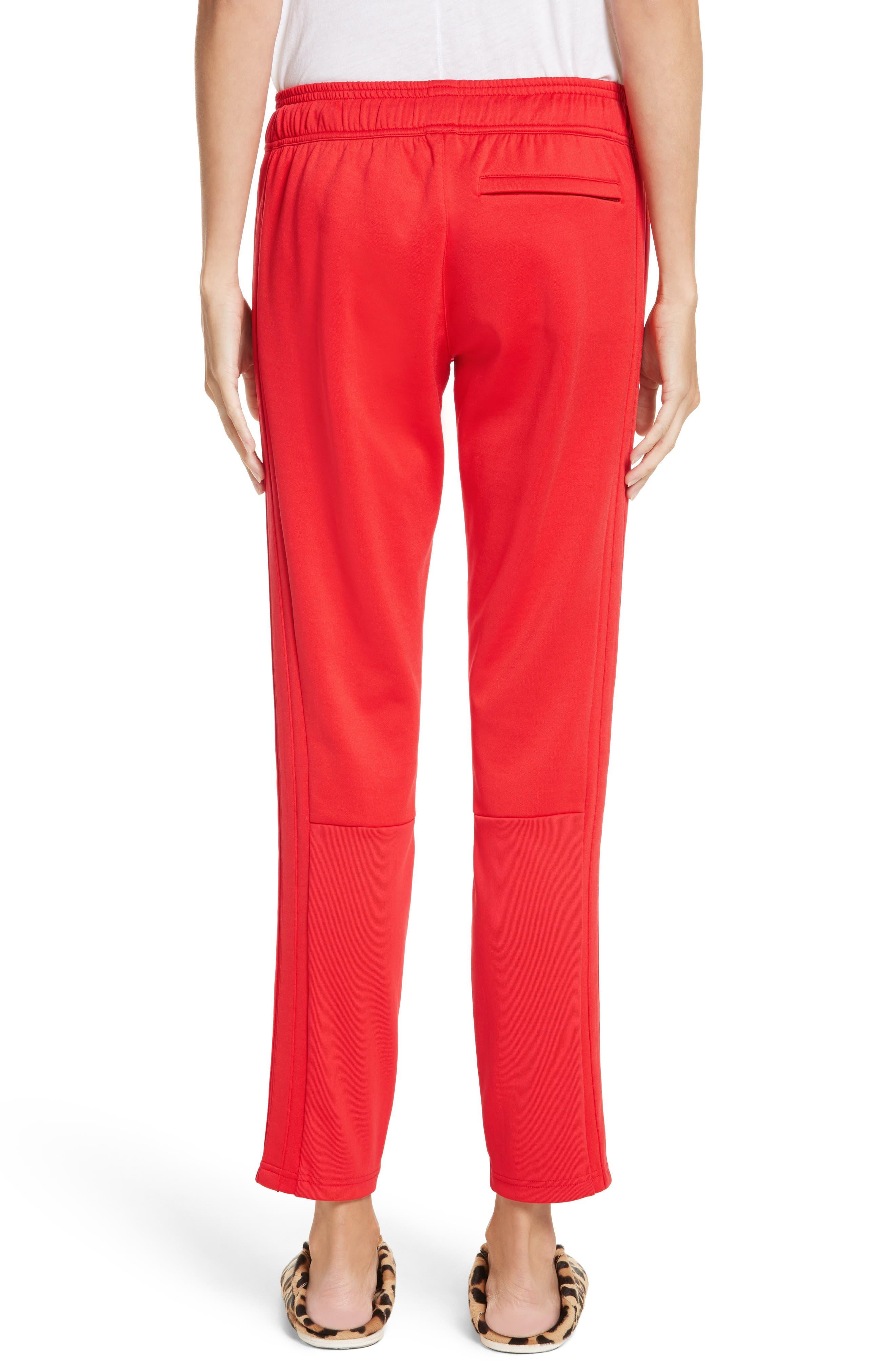 PSWL Jersey Track Pants,                             Alternate thumbnail 3, color,                             Poppy