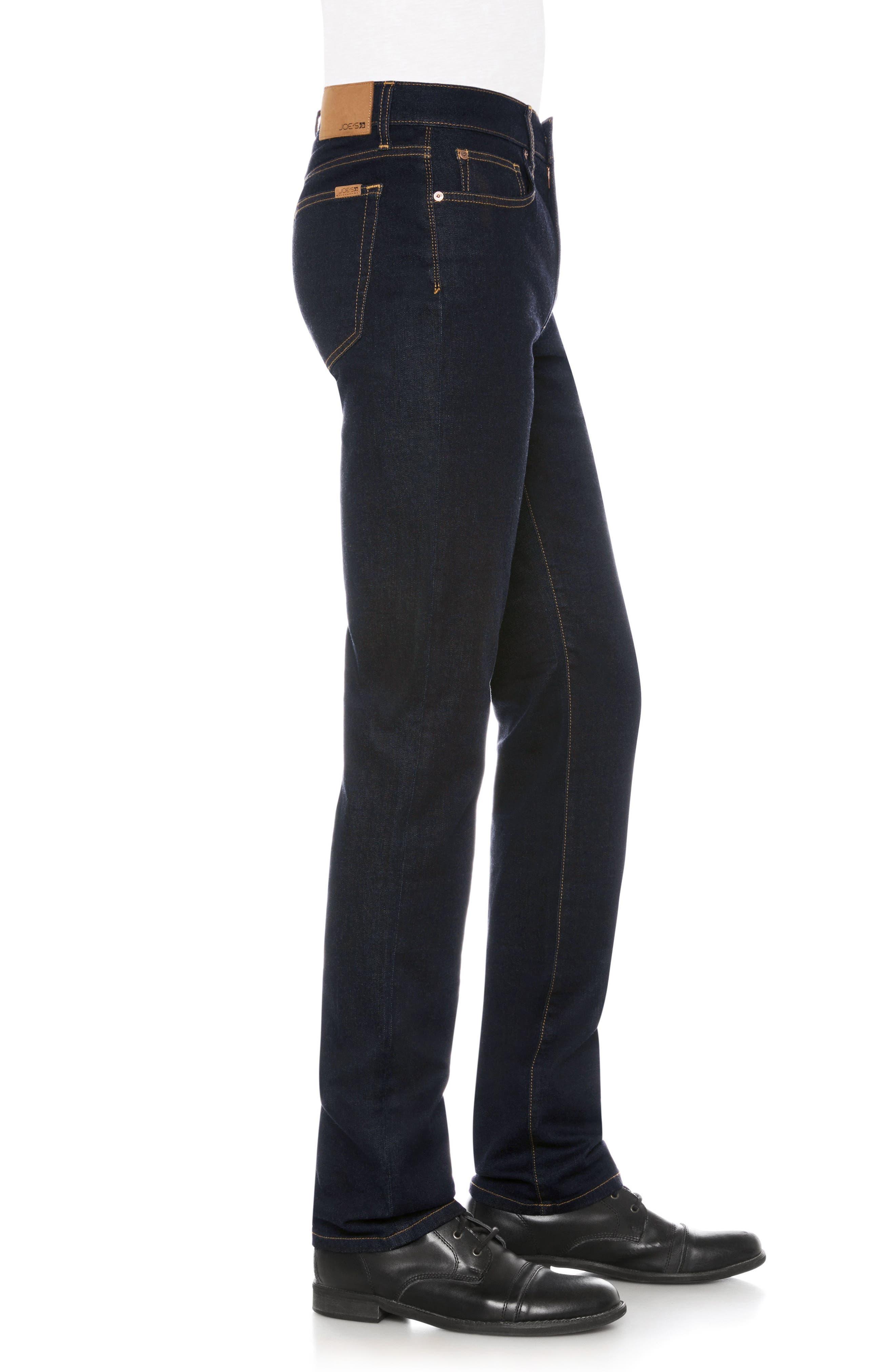 Brixton Slim Straight Fit Jeans,                             Alternate thumbnail 3, color,                             Jazz