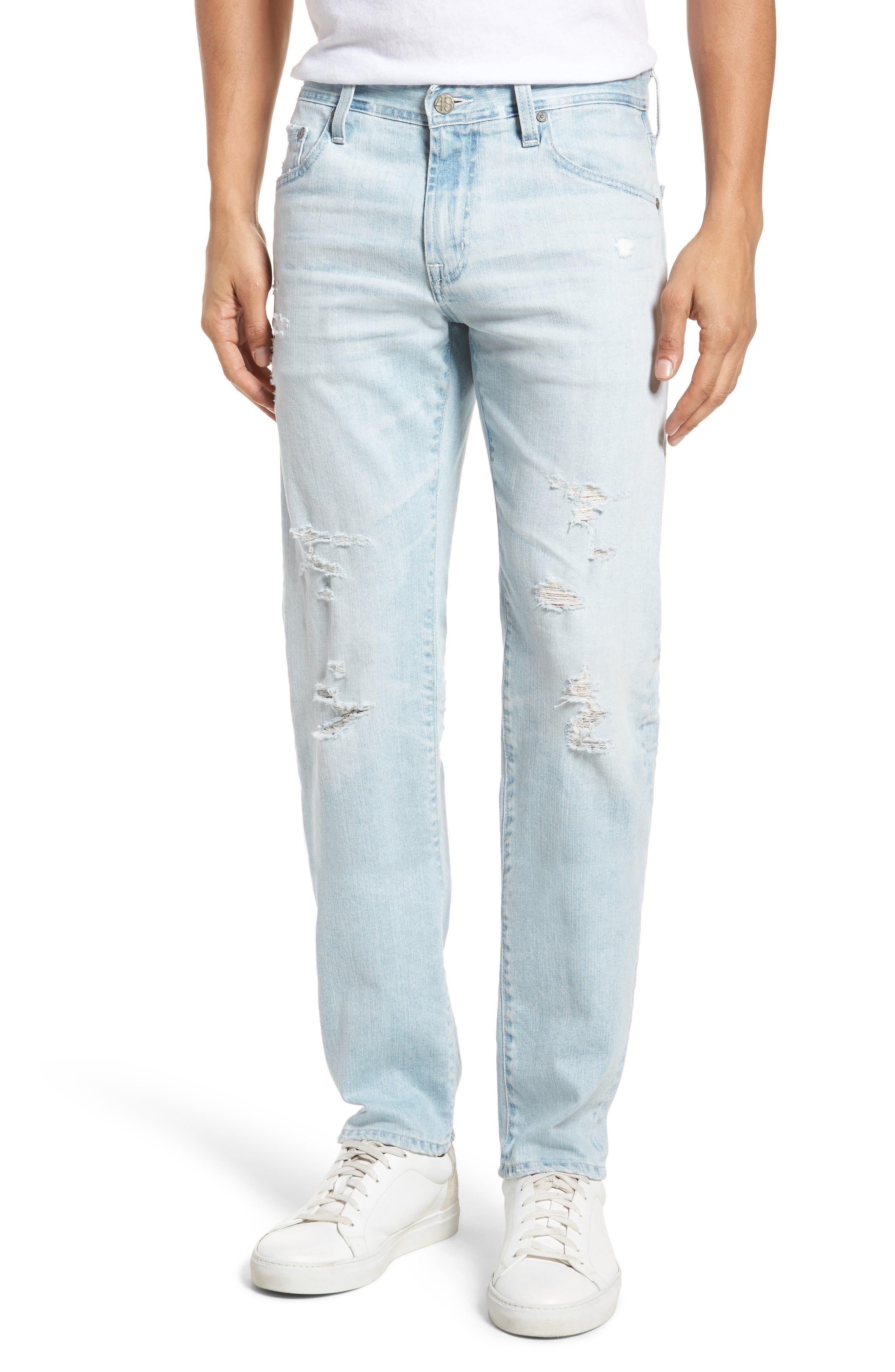 Tellis Slim Fit Jeans,                             Main thumbnail 1, color,                             27 Years Surfrider