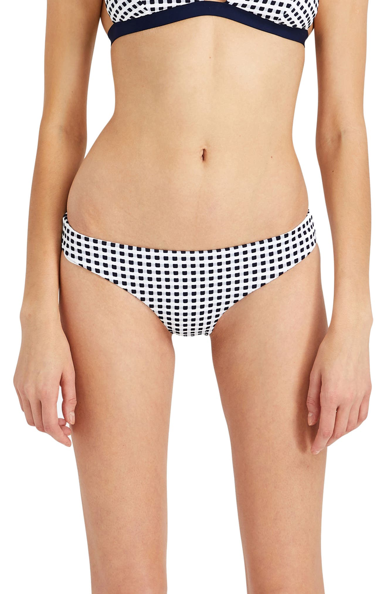 Lily Bikini Bottoms,                         Main,                         color, Blue Shadow