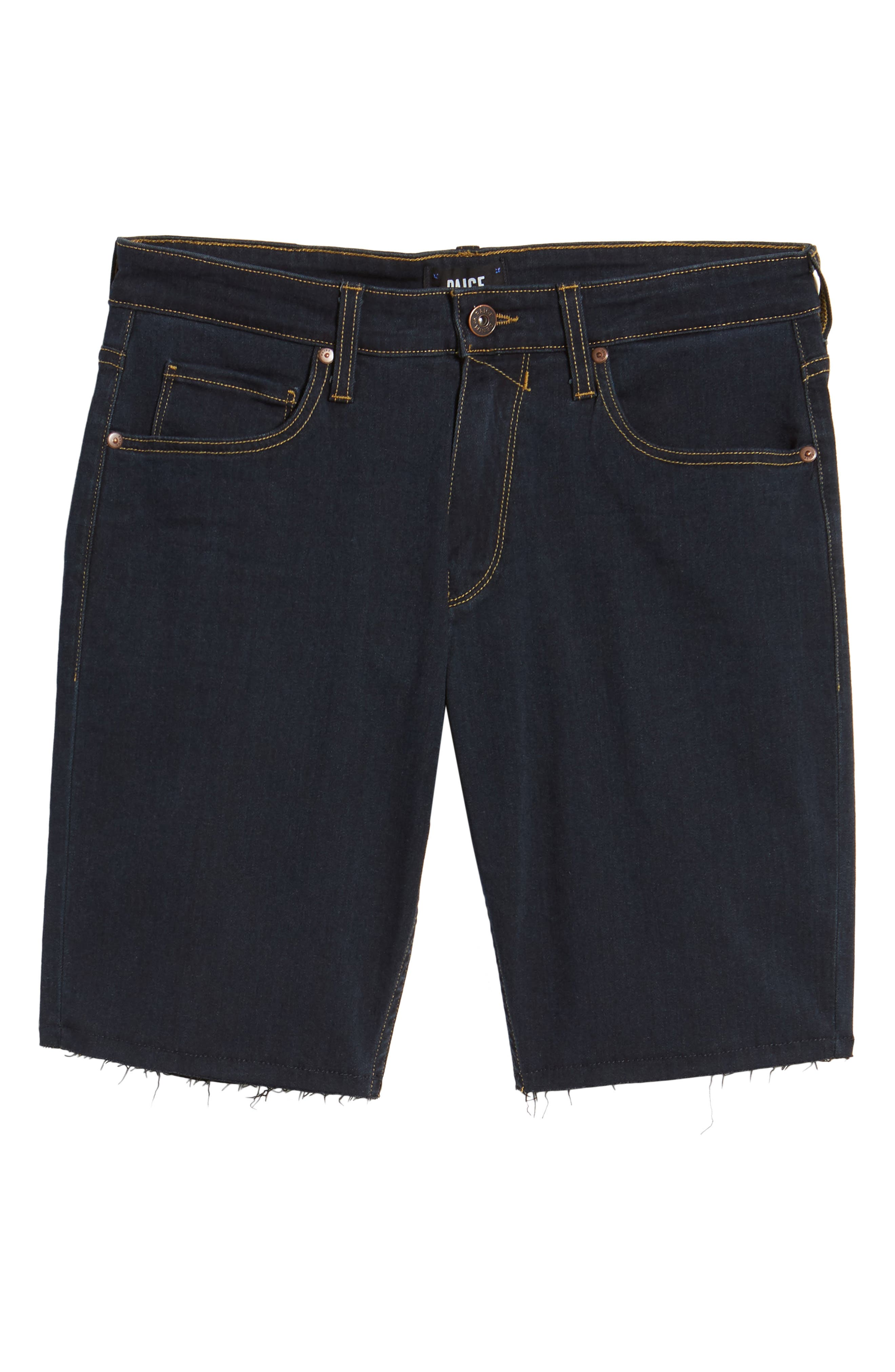 Transcend - Federal Slim Straight Leg Denim Shorts,                             Alternate thumbnail 6, color,                             Ames