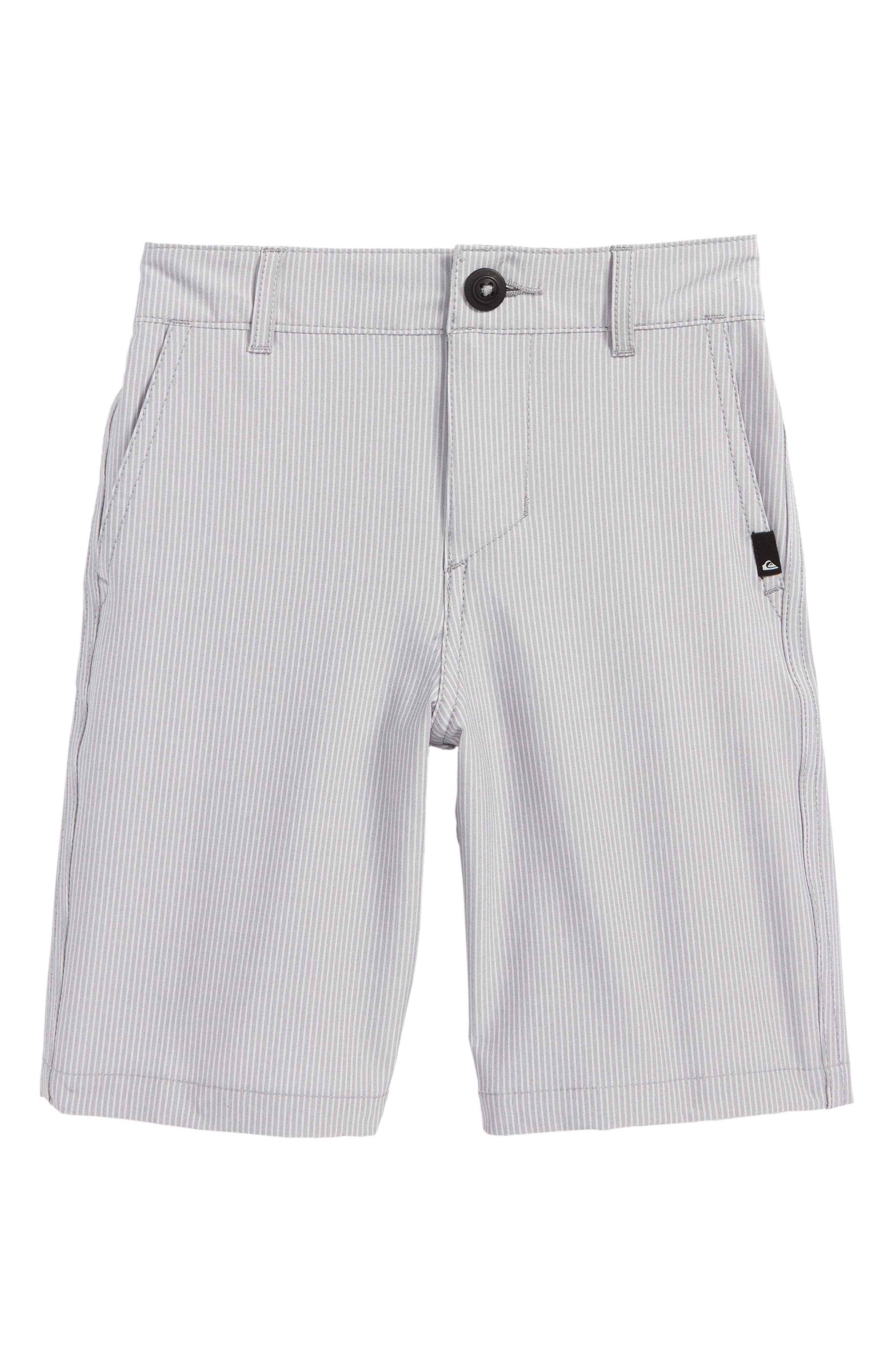 Main Image - Quiksilver Union Pinstripe Amphibian Board Shorts (Toddler Boys & Little Boys)