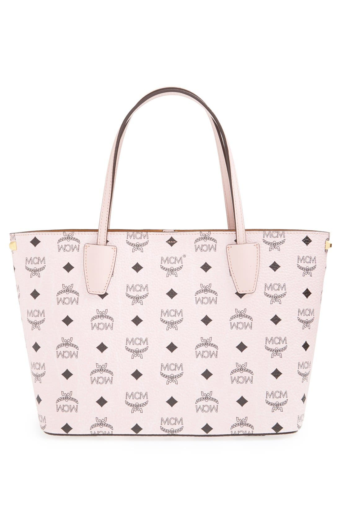 Alternate Image 3  - MCM 'Visetos Collection - Medium Project' Logo Stamped Coated Canvas Shopper