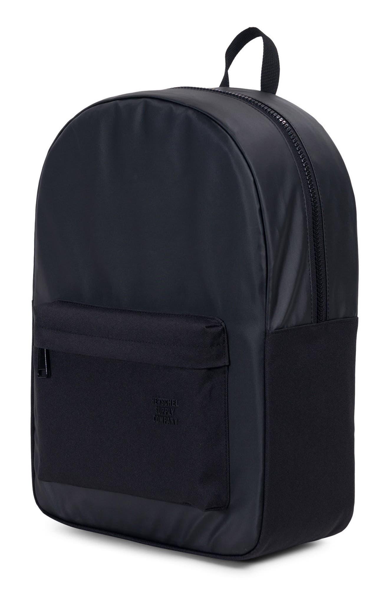 Winlaw Polycoat Studio Backpack,                             Alternate thumbnail 4, color,                             Black