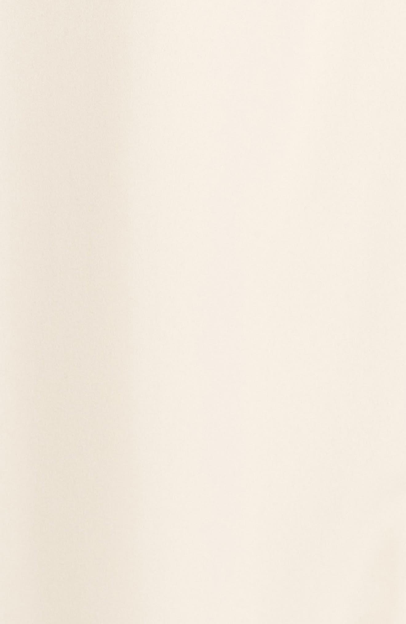 Tilbury Georgette Wrap Maxi Dress,                             Alternate thumbnail 5, color,                             Champagne
