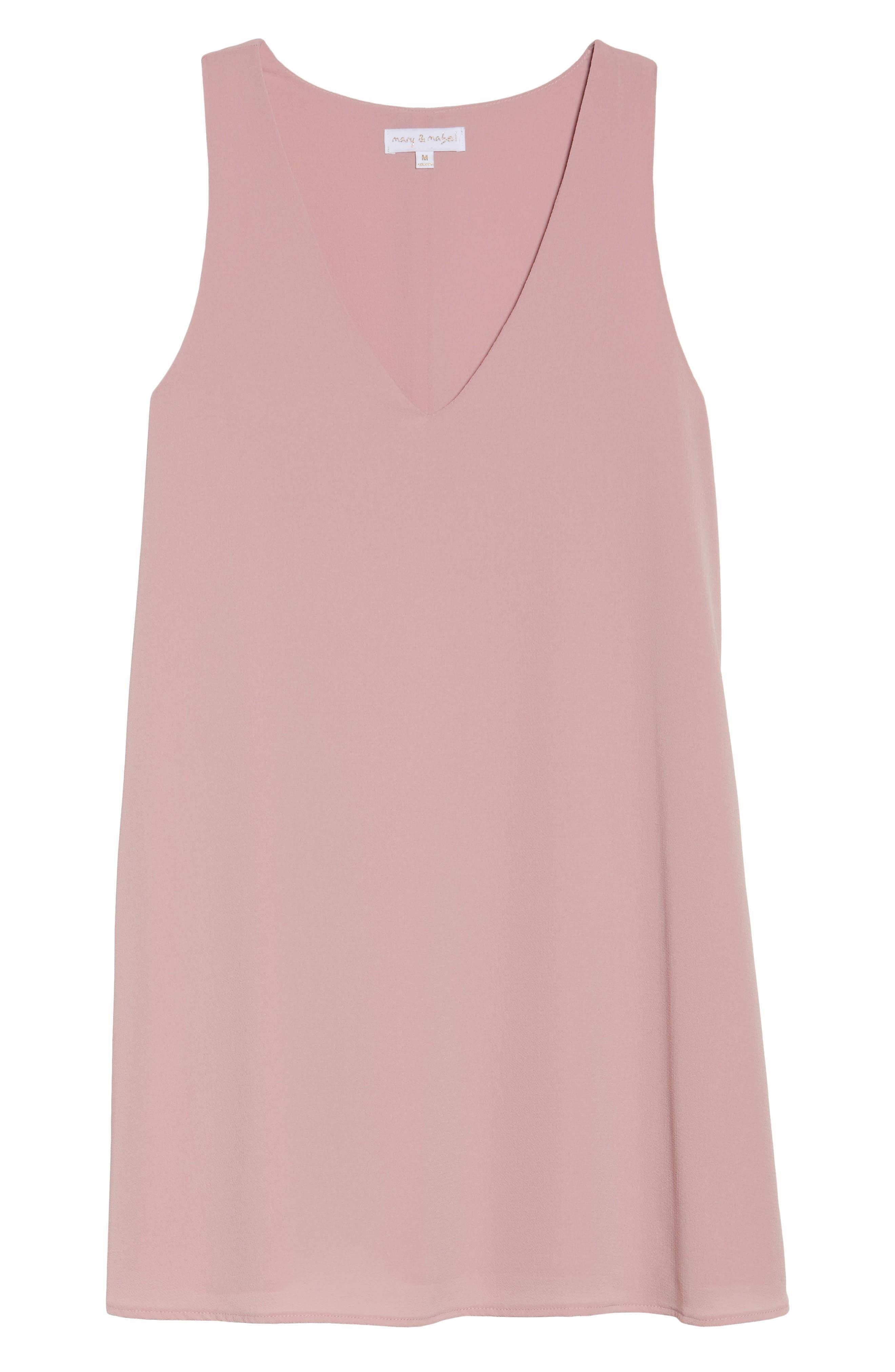 Shift Dress,                             Alternate thumbnail 6, color,                             Blush