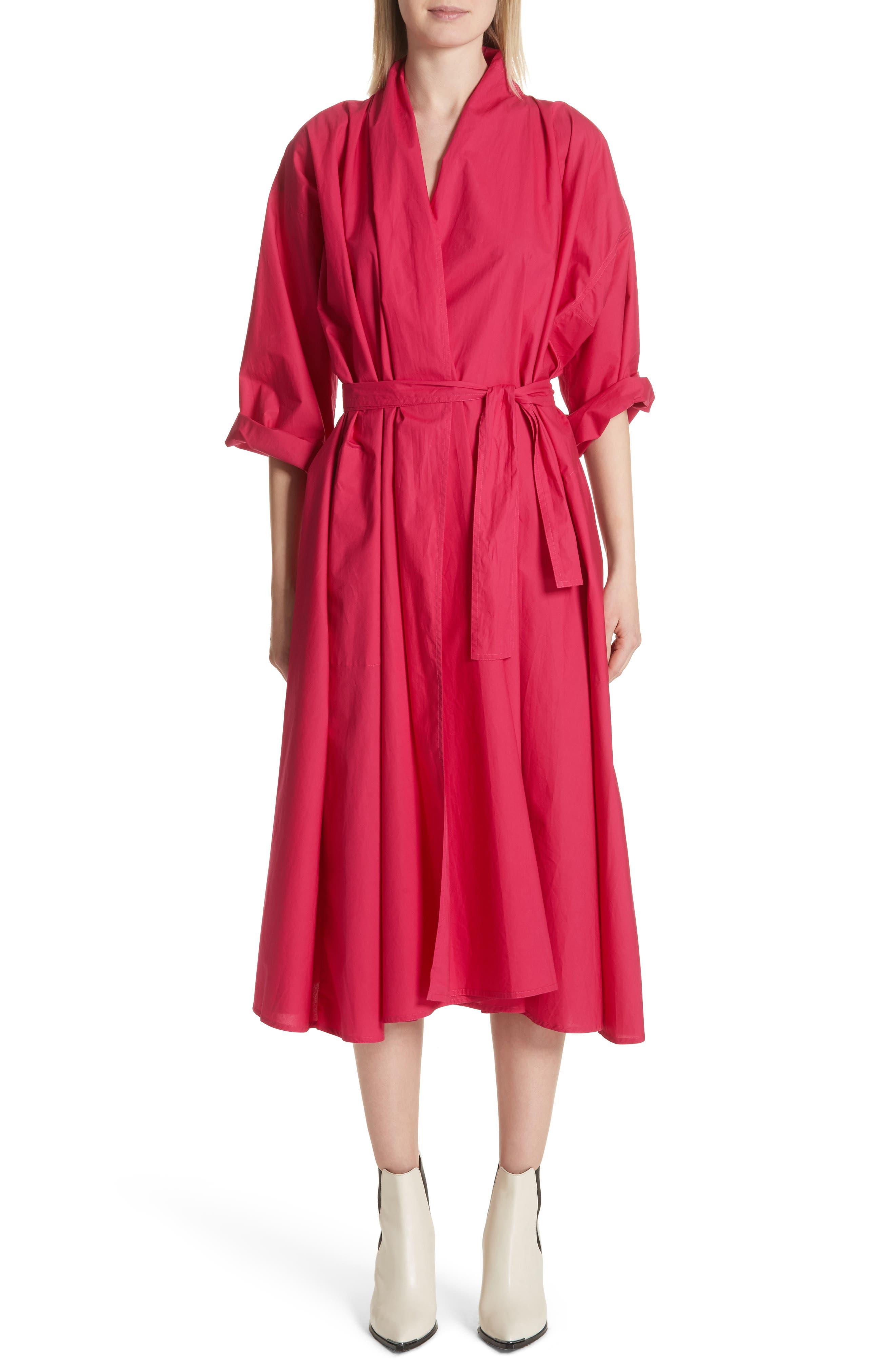 Sofie D'Hoore Gathered Sleeve Dress