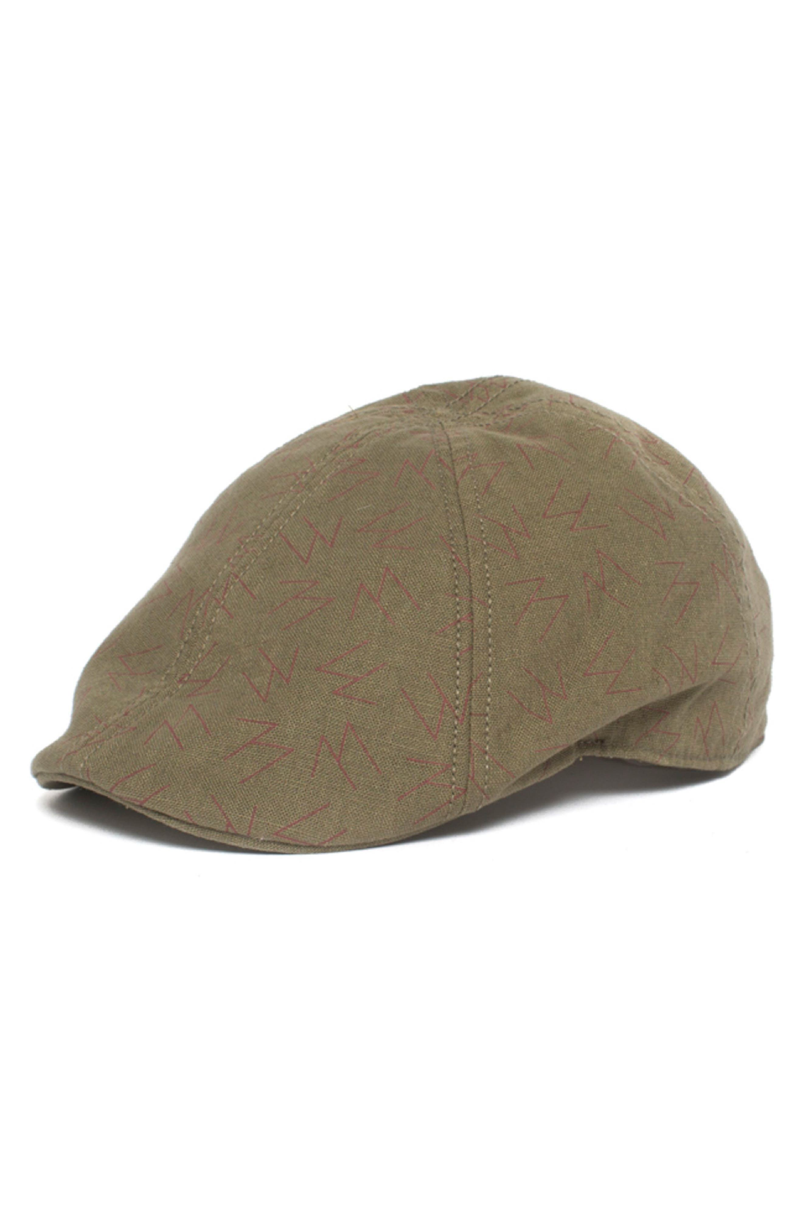 High Warrior Driving Cap,                         Main,                         color, Olive