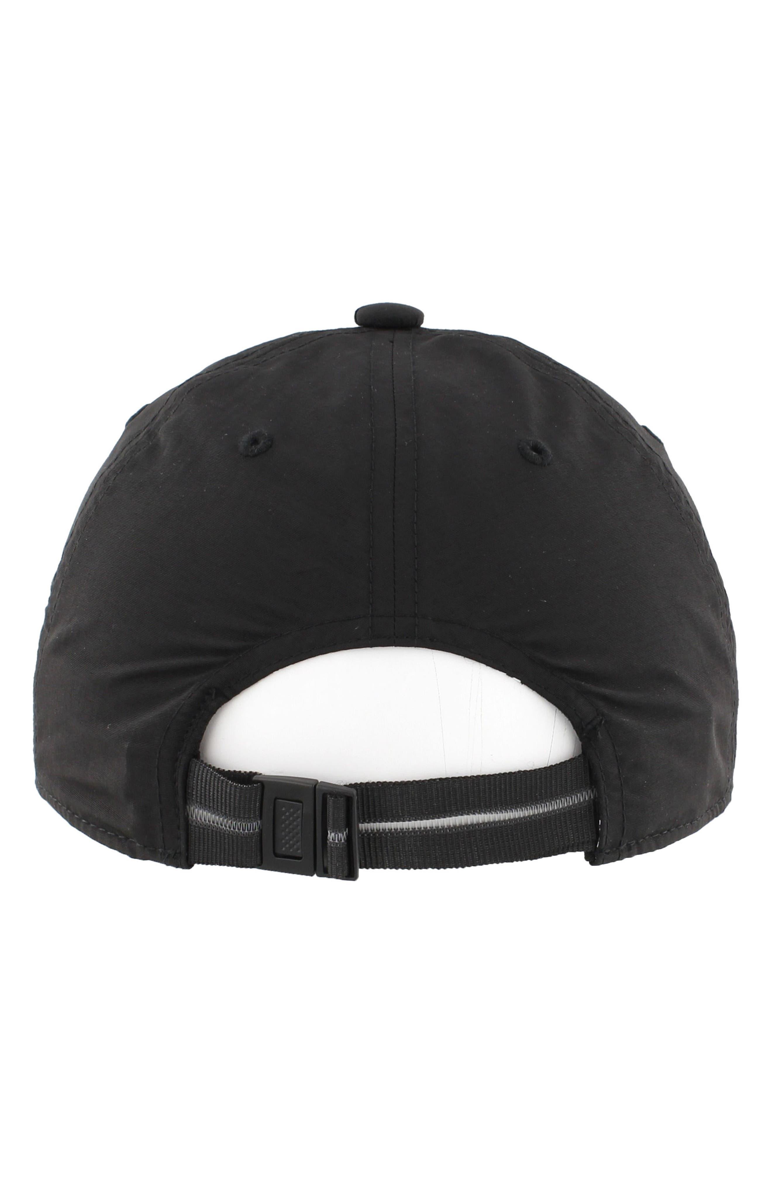 EQT Label Ball Cap,                             Alternate thumbnail 5, color,                             Black/ White