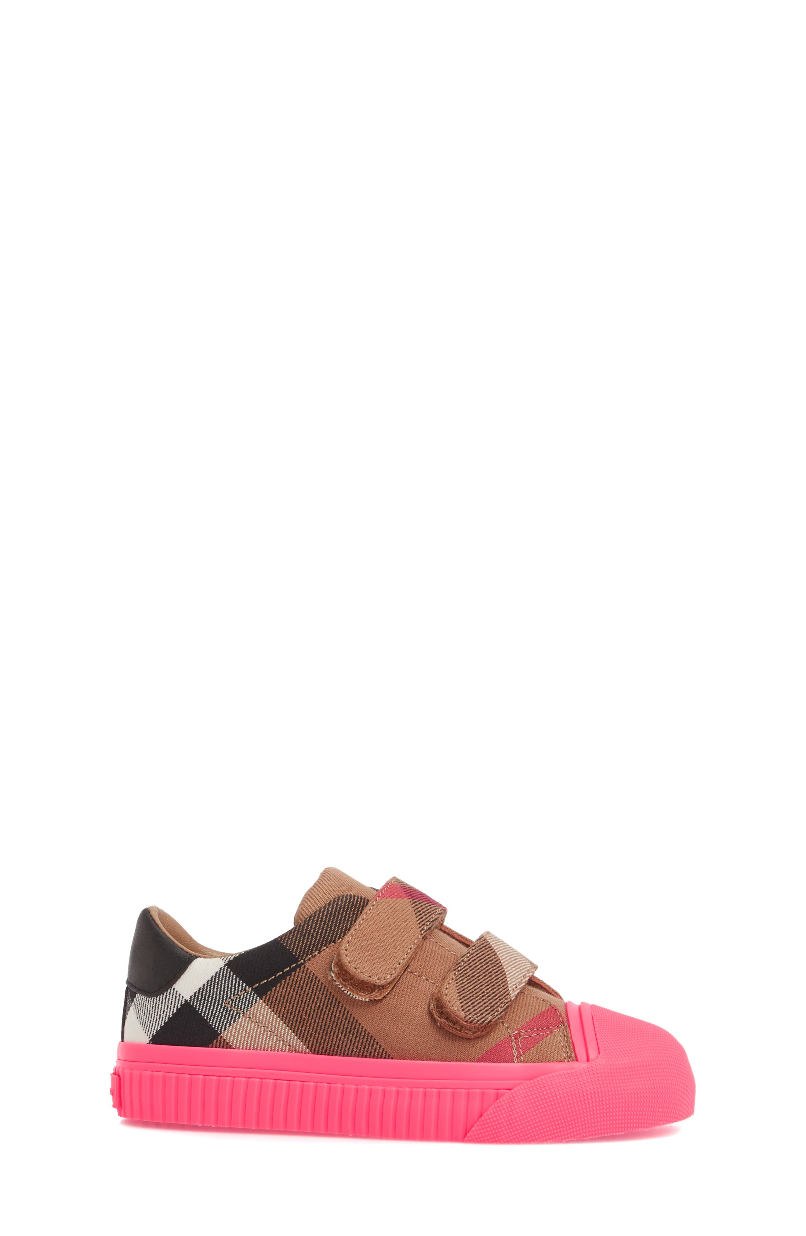 Belside Sneaker,                             Alternate thumbnail 3, color,                             Classic/ Neon Pink