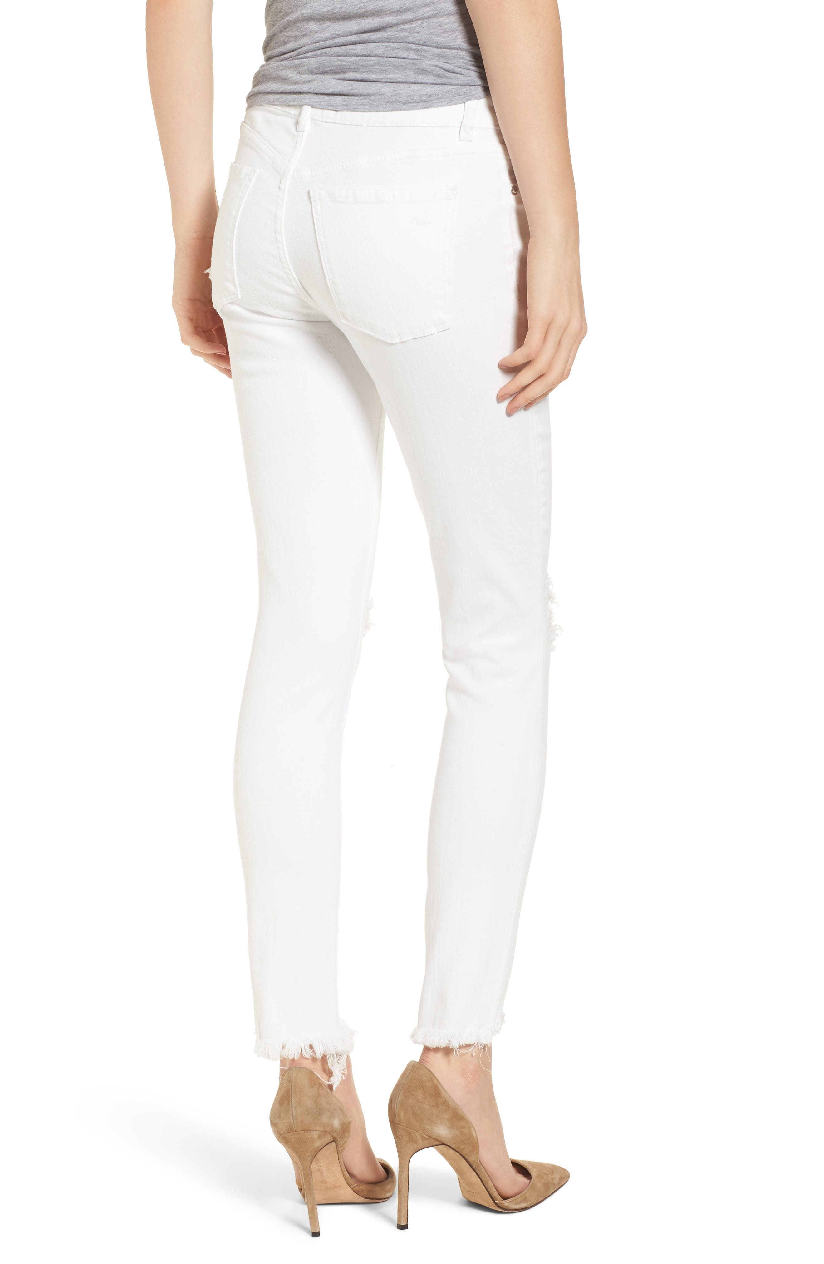Margaux Instasculpt Ankle Skinny Jeans,                             Alternate thumbnail 2, color,                             Newport
