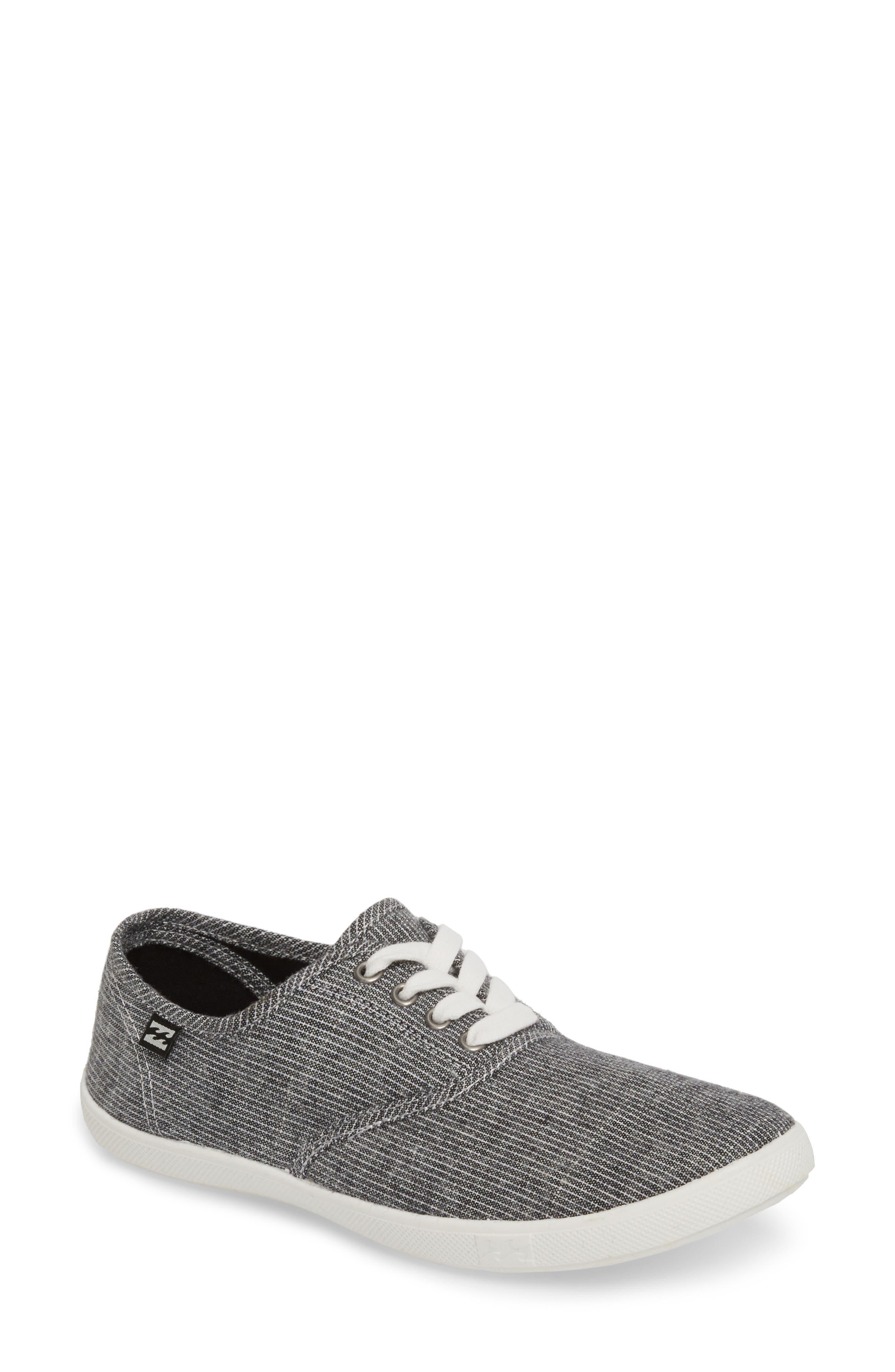 Addy Sneaker,                         Main,                         color, Black/ White