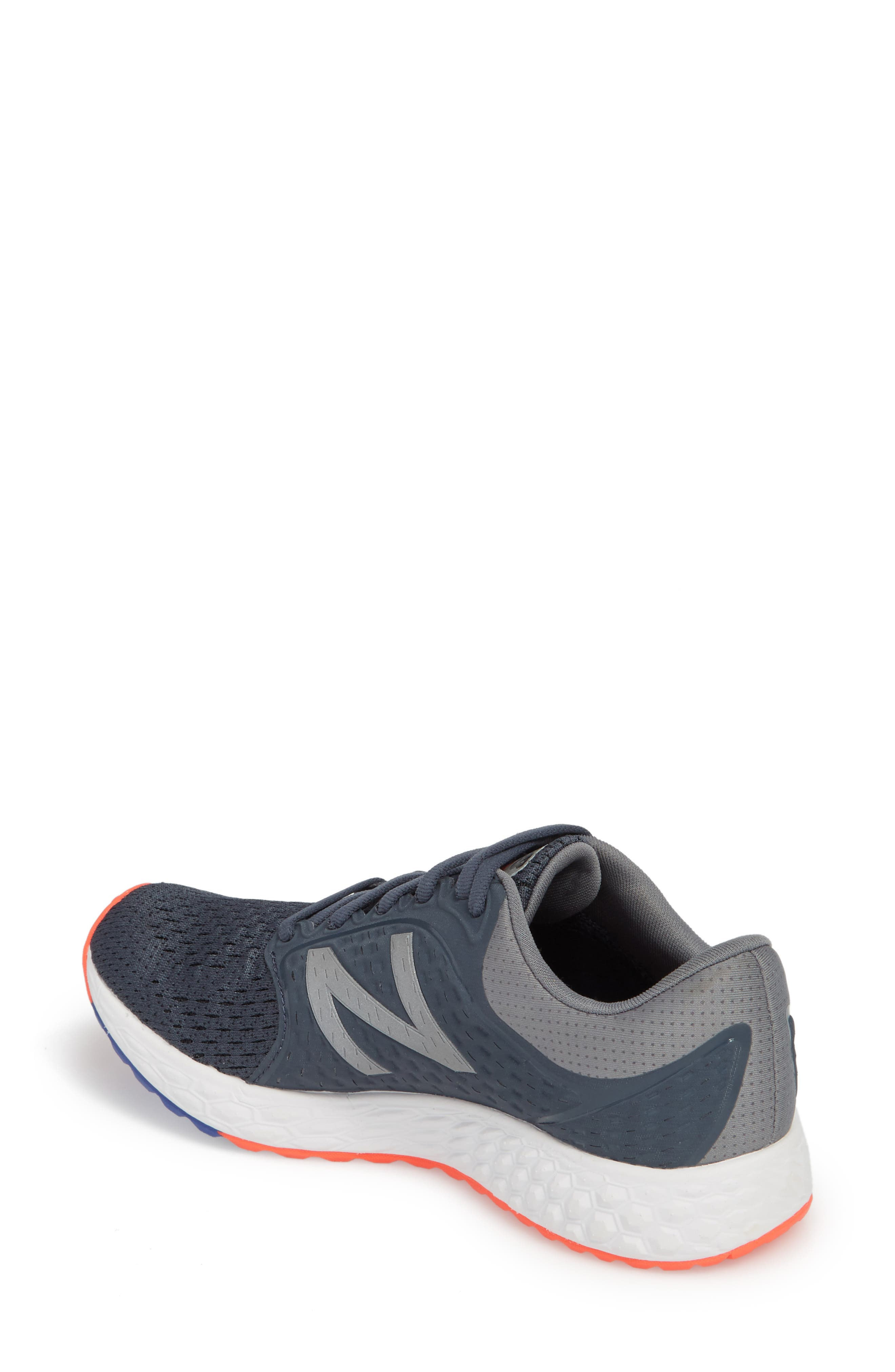 Fresh Foam Zante v4 Running Shoe,                             Alternate thumbnail 2, color,                             Light Grey