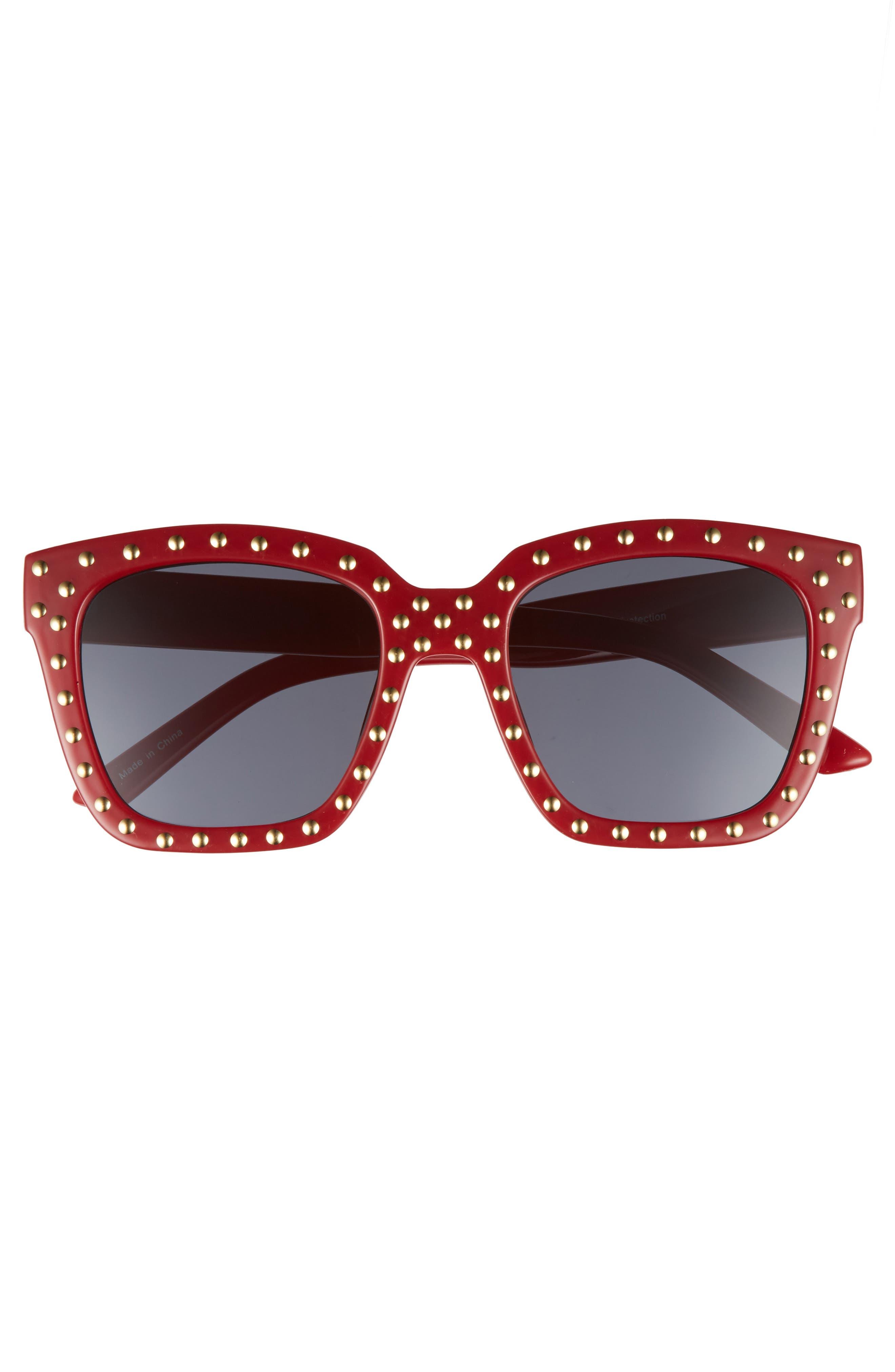 Alternate Image 3  - BP. Studded Square Sunglasses