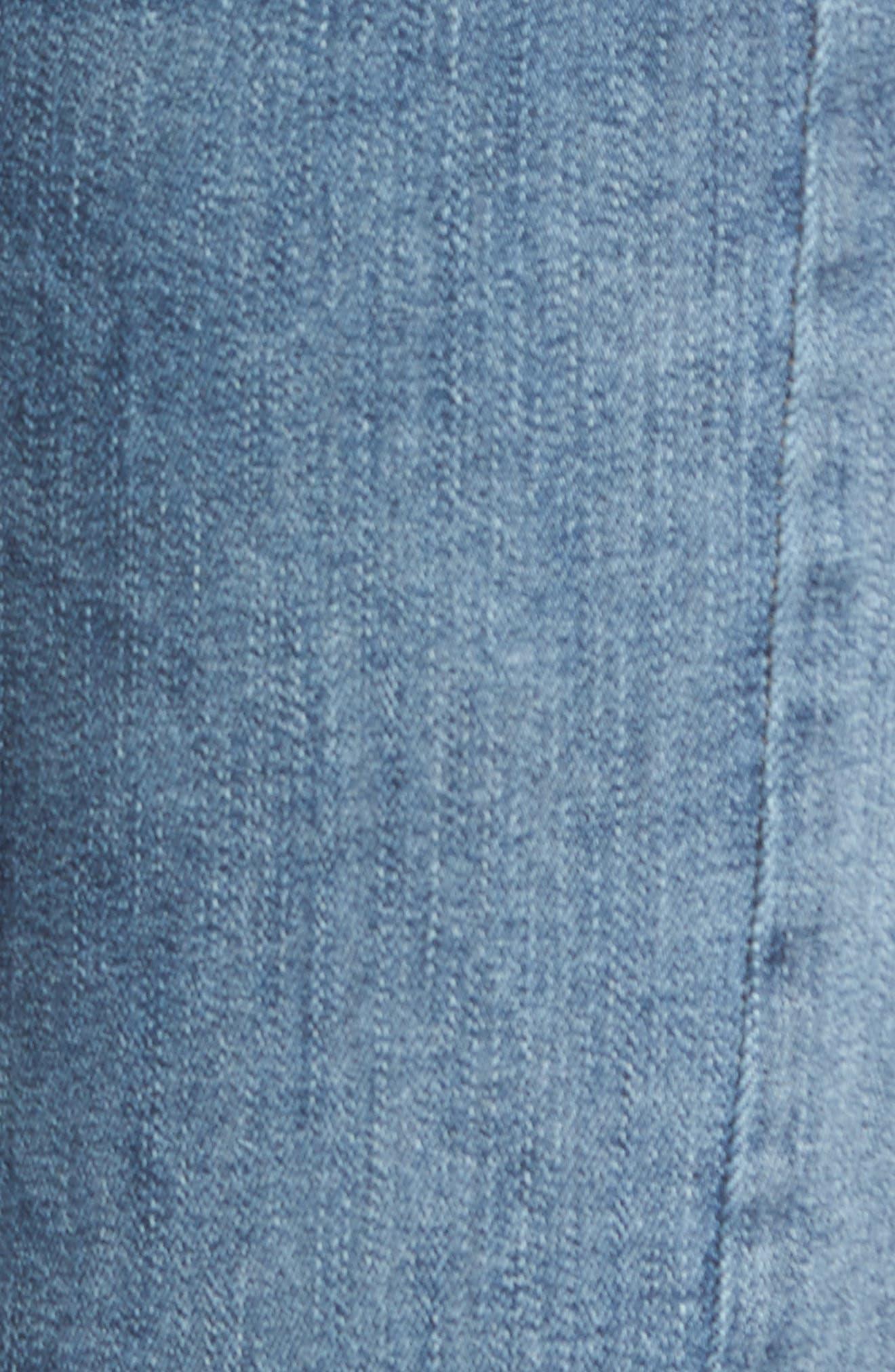Mara Instasculpt Ankle Straight Leg Jeans,                             Alternate thumbnail 6, color,                             Castlewood