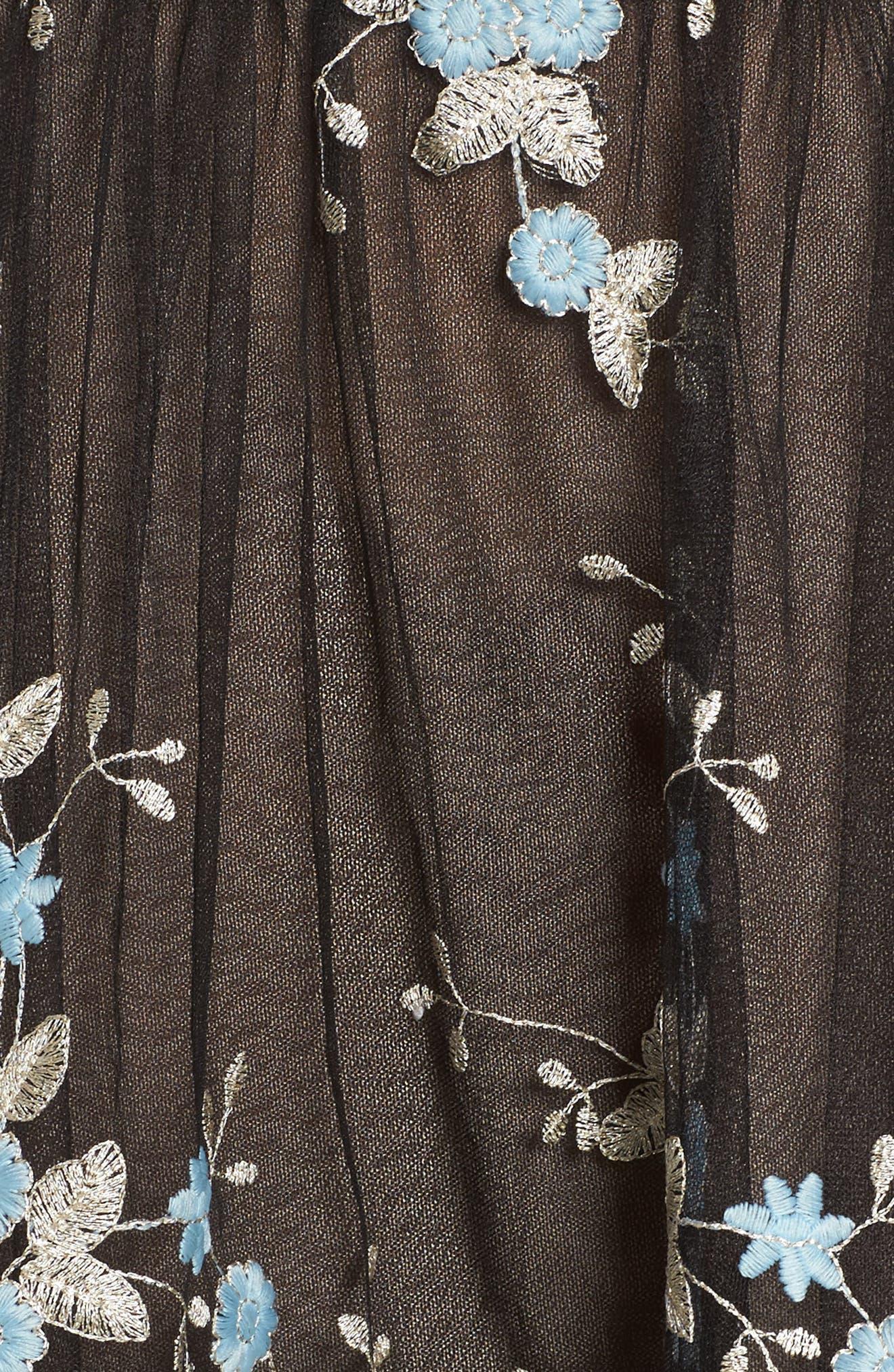Marietta Fit & Flare Dress,                             Alternate thumbnail 9, color,                             Multicolor