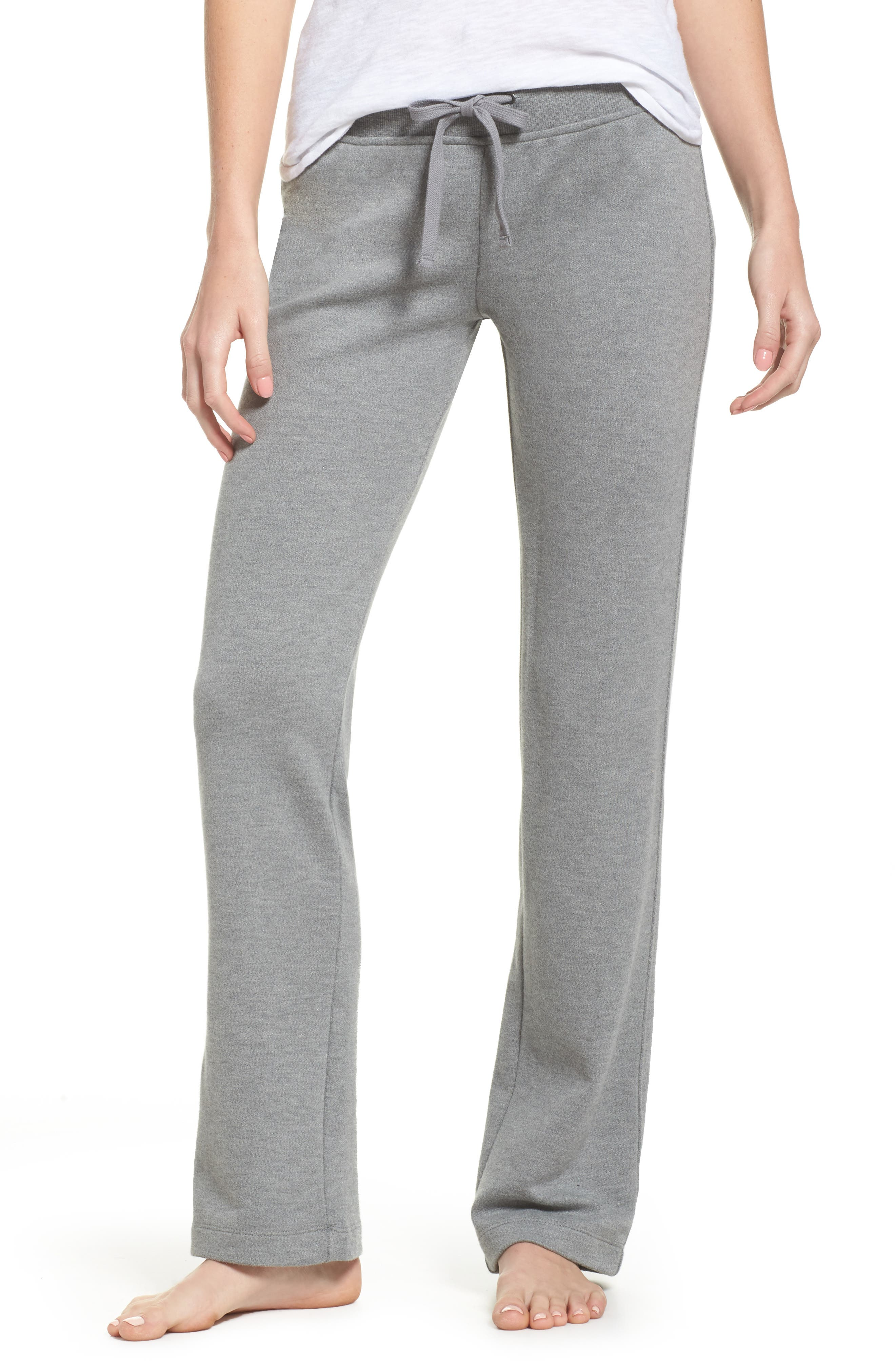 Penny Lounge Pants,                         Main,                         color, Grey Heather