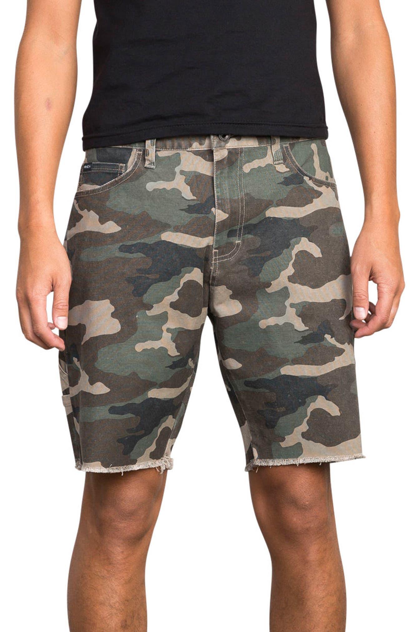 Work It Shorts,                         Main,                         color, Camo