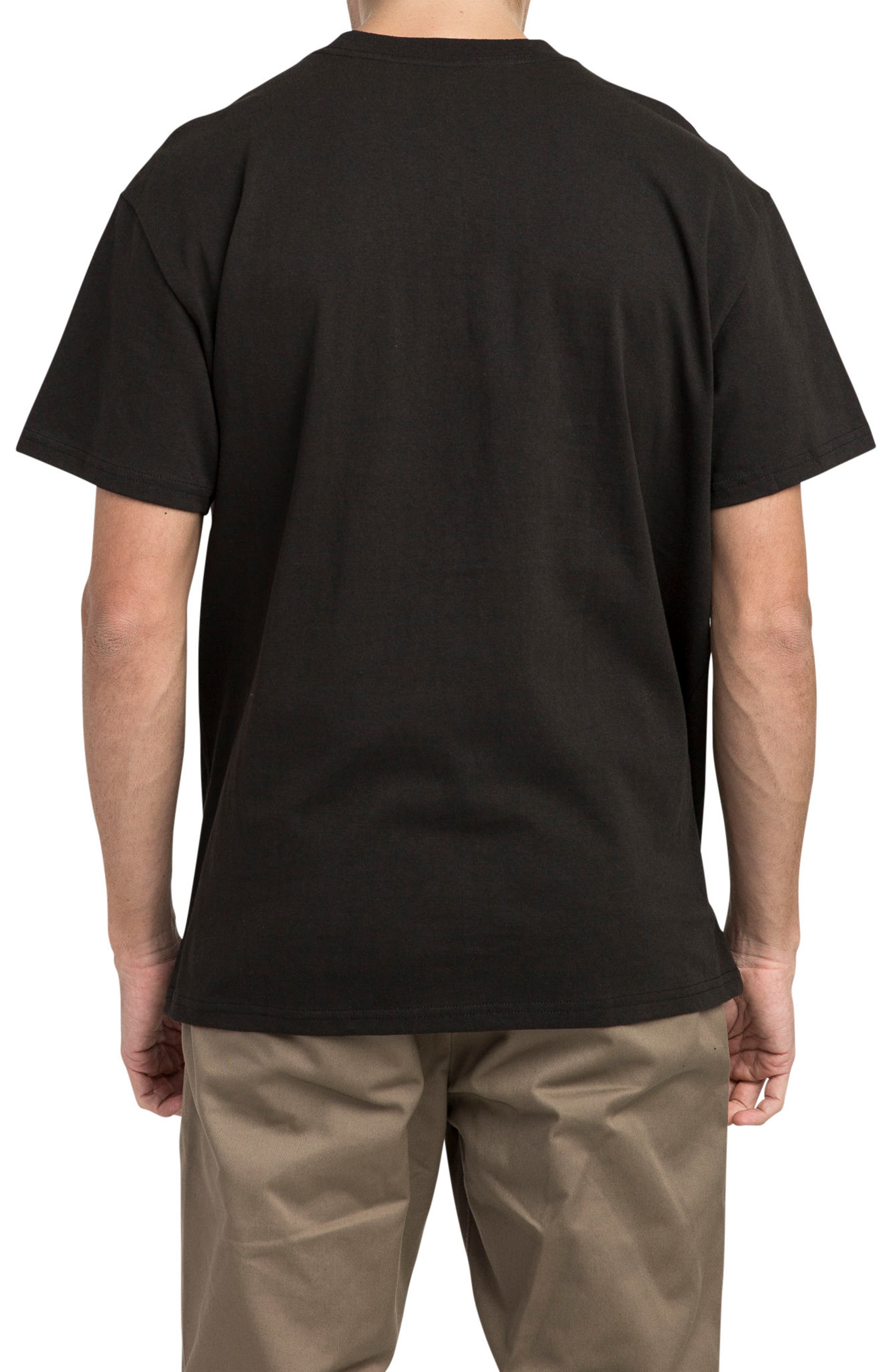 Billboard T-Shirt,                             Alternate thumbnail 2, color,                             Black