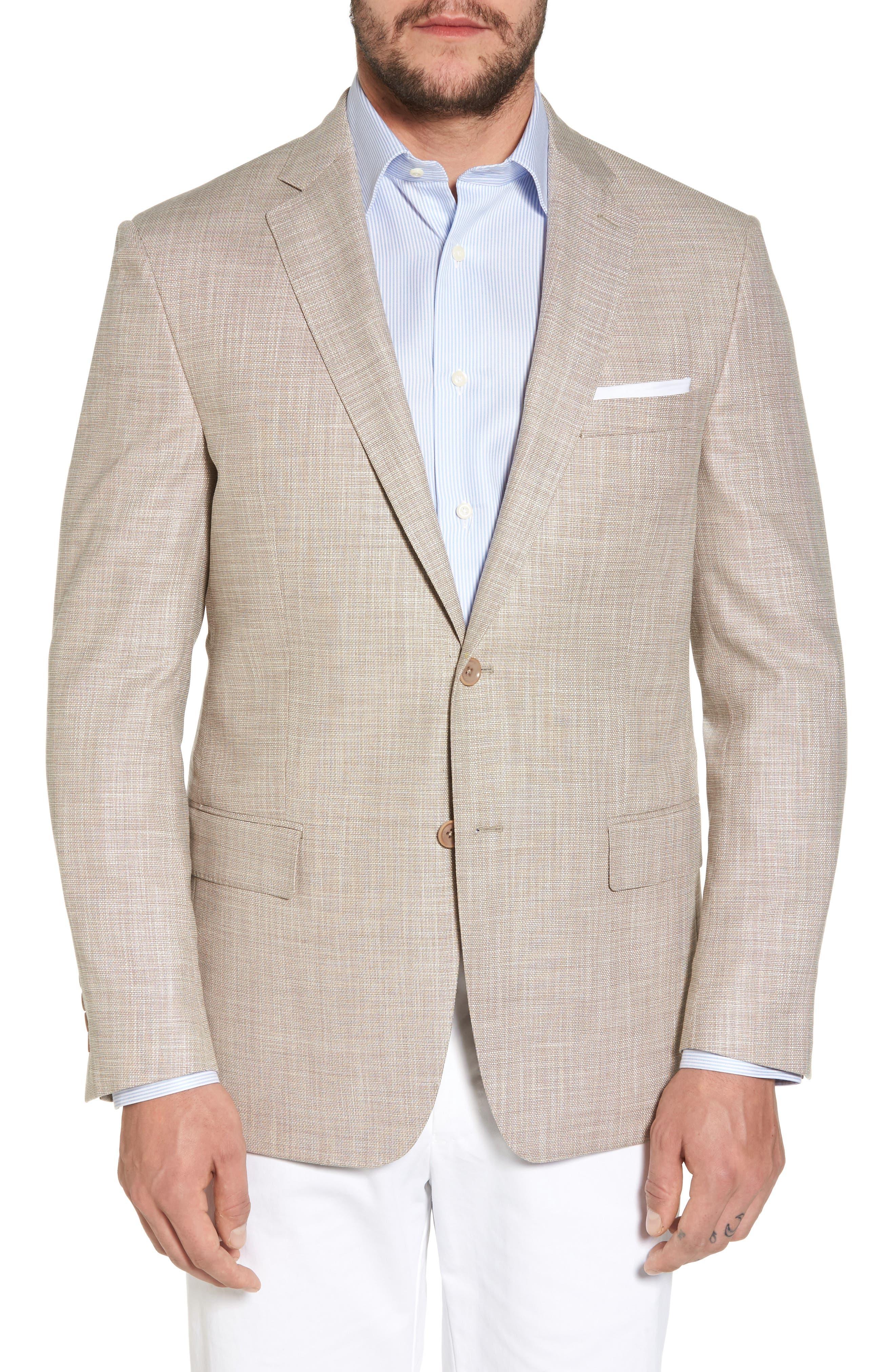 Classic Fit Sport Coat,                         Main,                         color, Tan