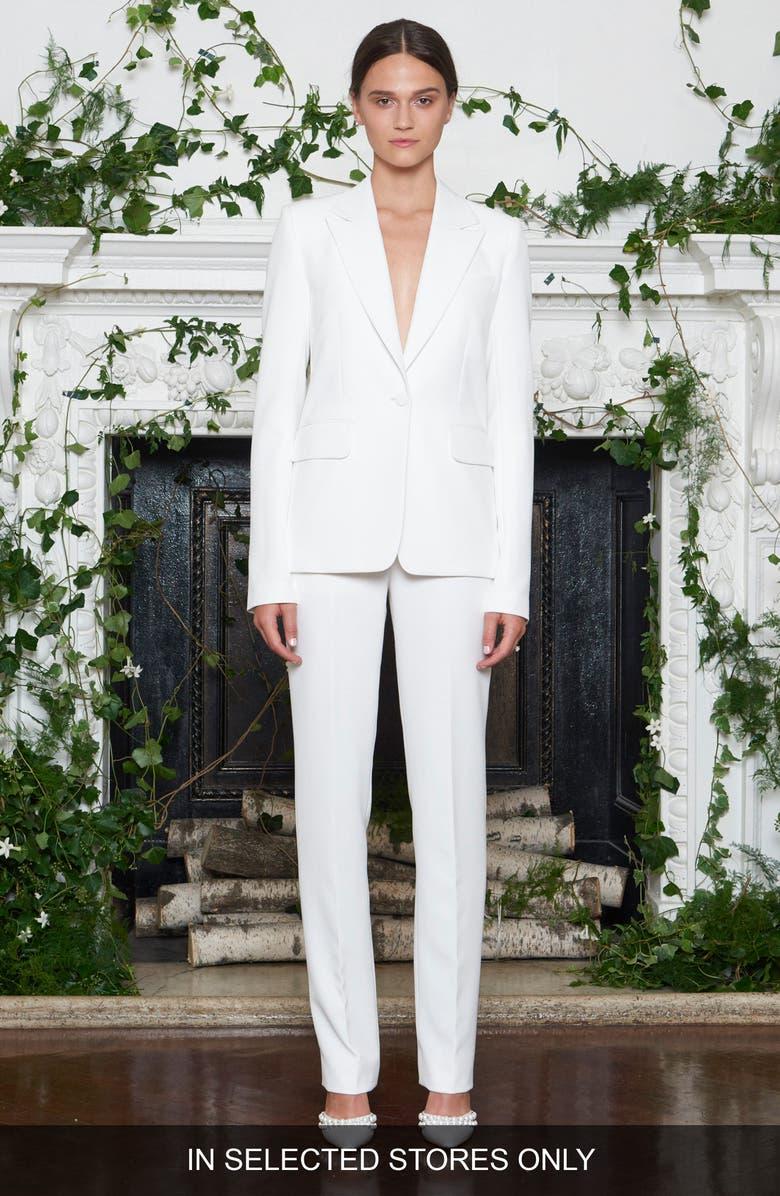 Yoko Double Weave Tuxedo Jacket