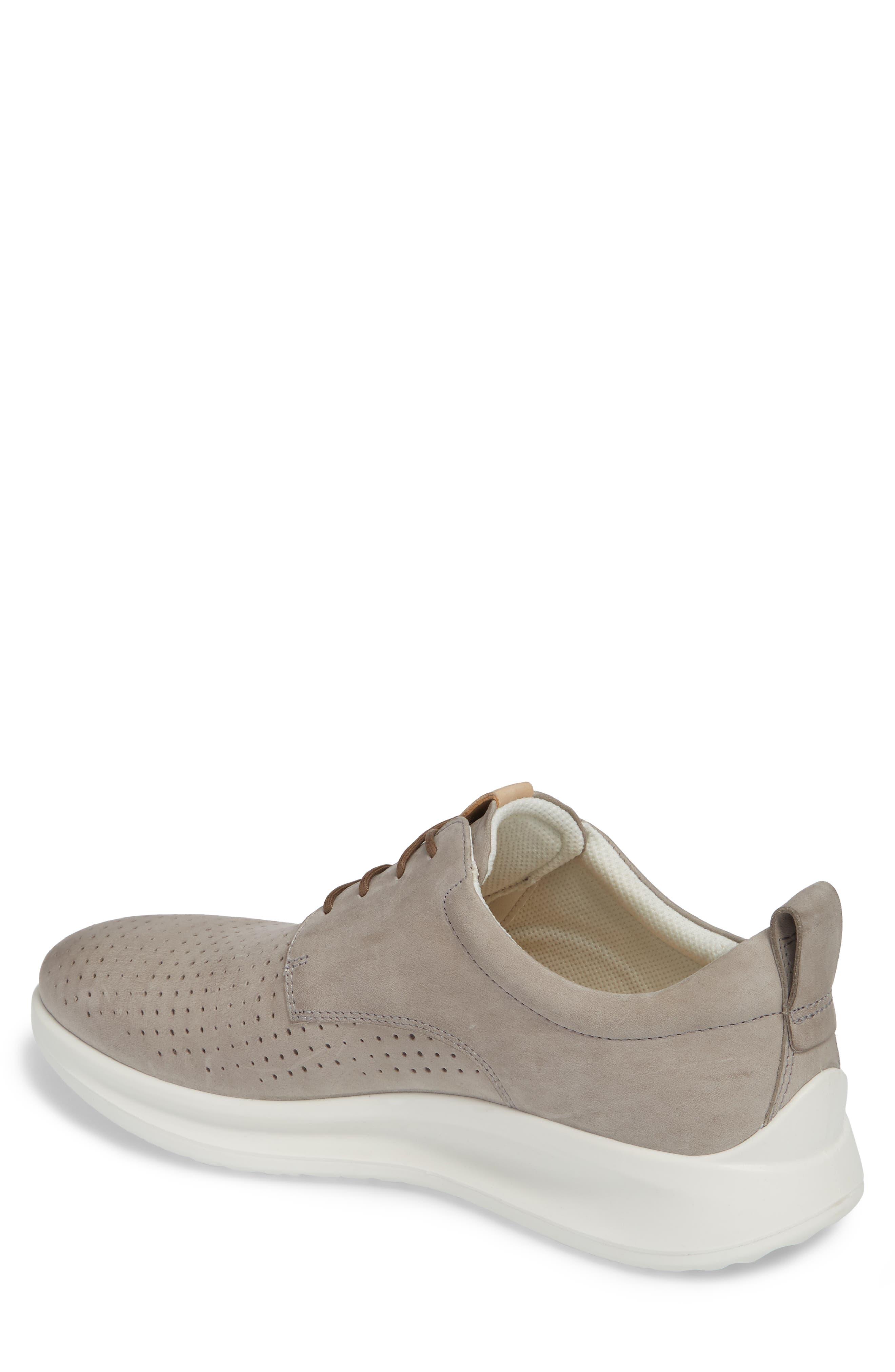 Aquet Sneaker,                             Alternate thumbnail 2, color,                             Moon Rock Leather