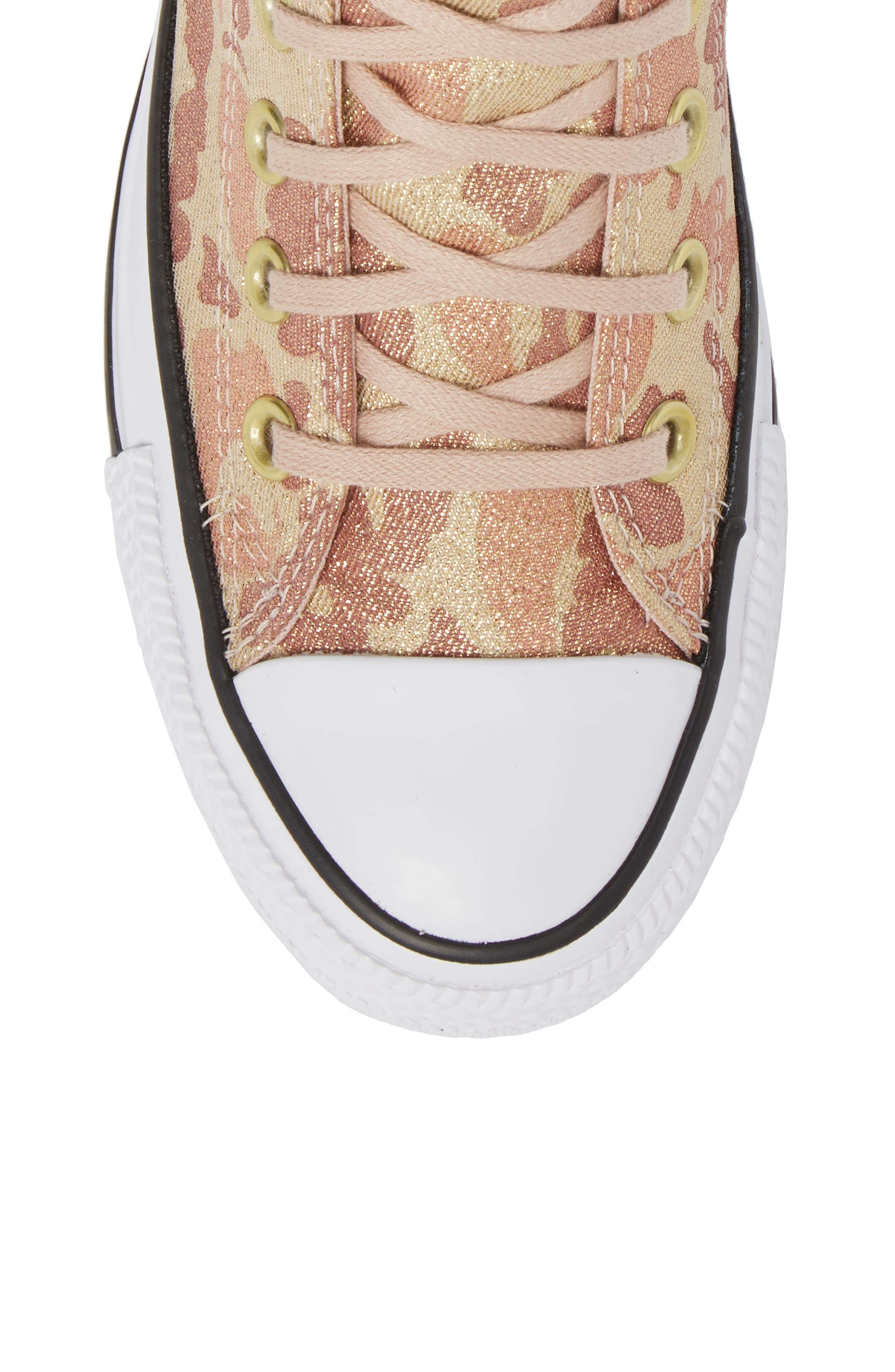 Chuck Taylor<sup>®</sup> All Star<sup>®</sup> High Top Sneaker,                             Alternate thumbnail 5, color,                             Particle Beige