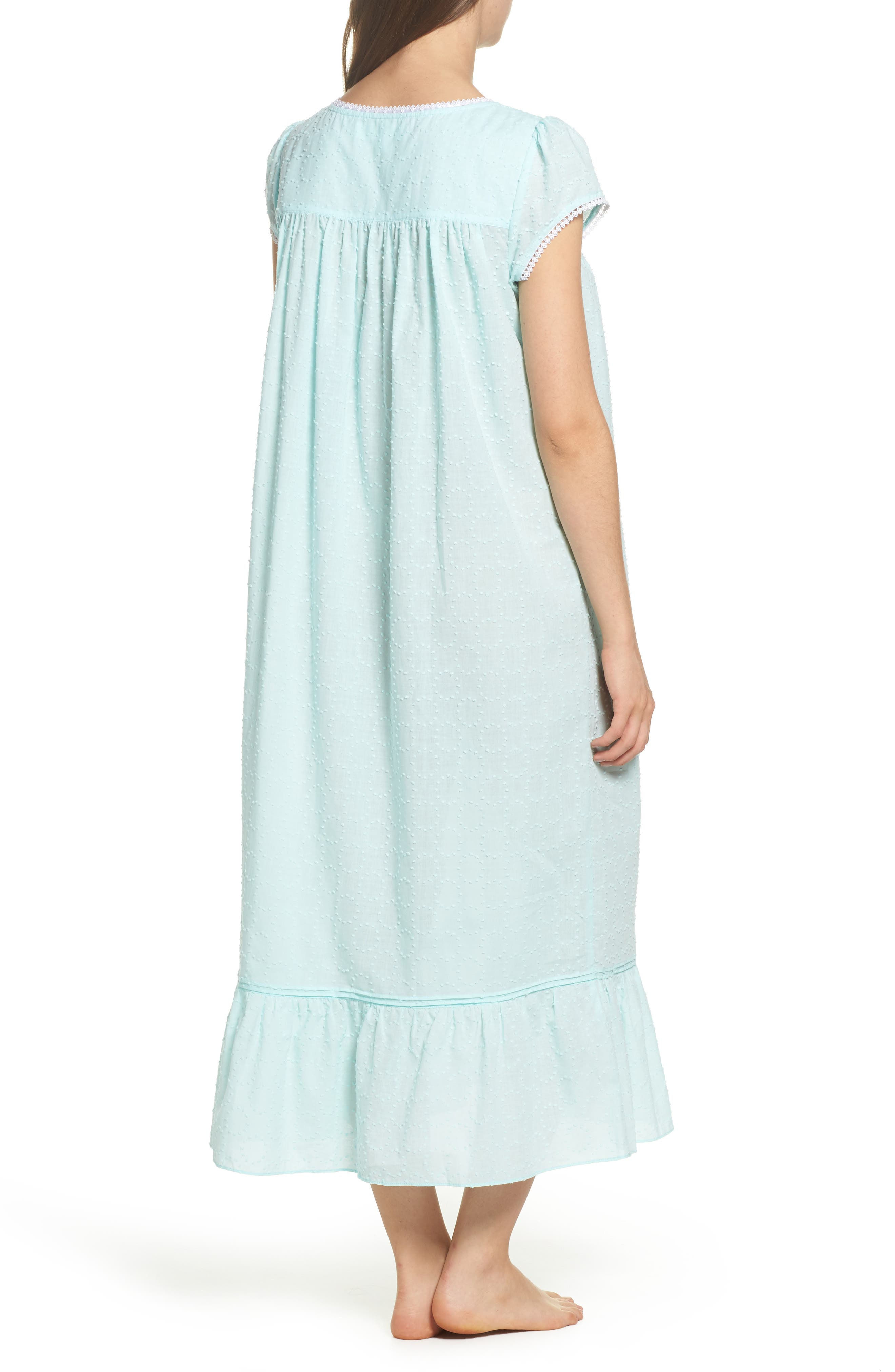 Alternate Image 2  - Eileen West Cotton Ballet Nightgown