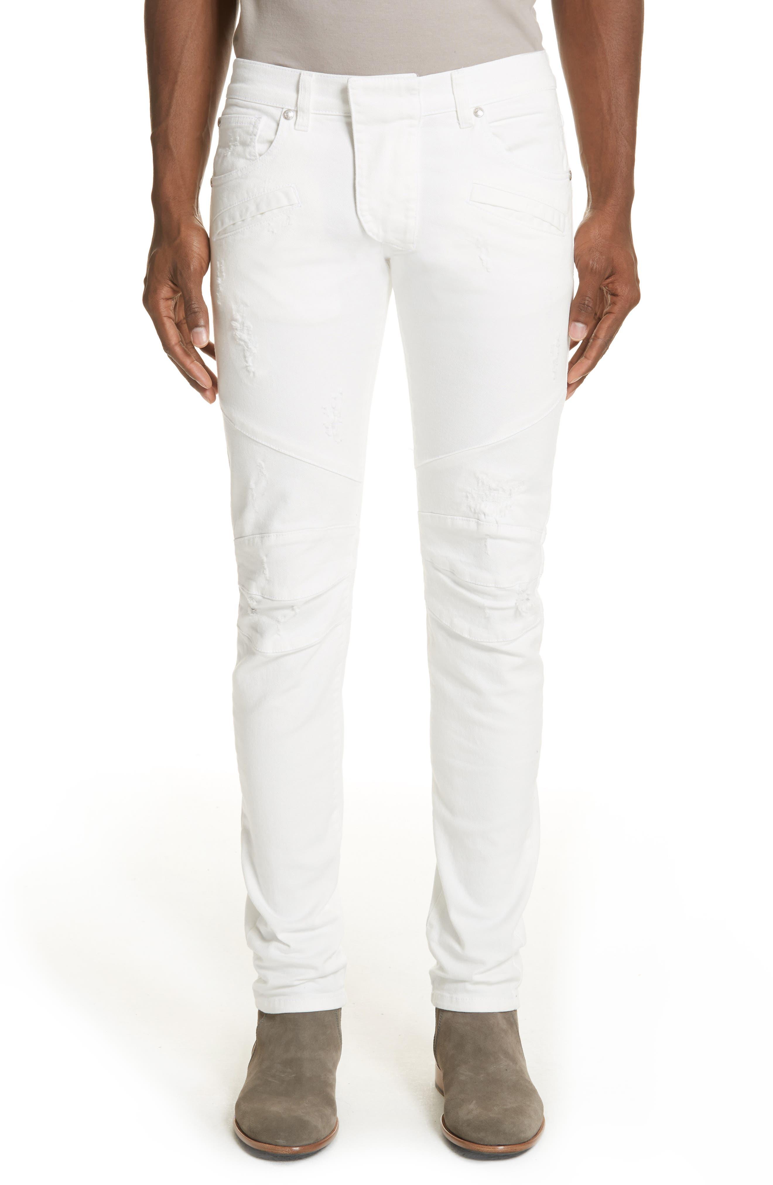 Pierre Balmain Biker Jeans