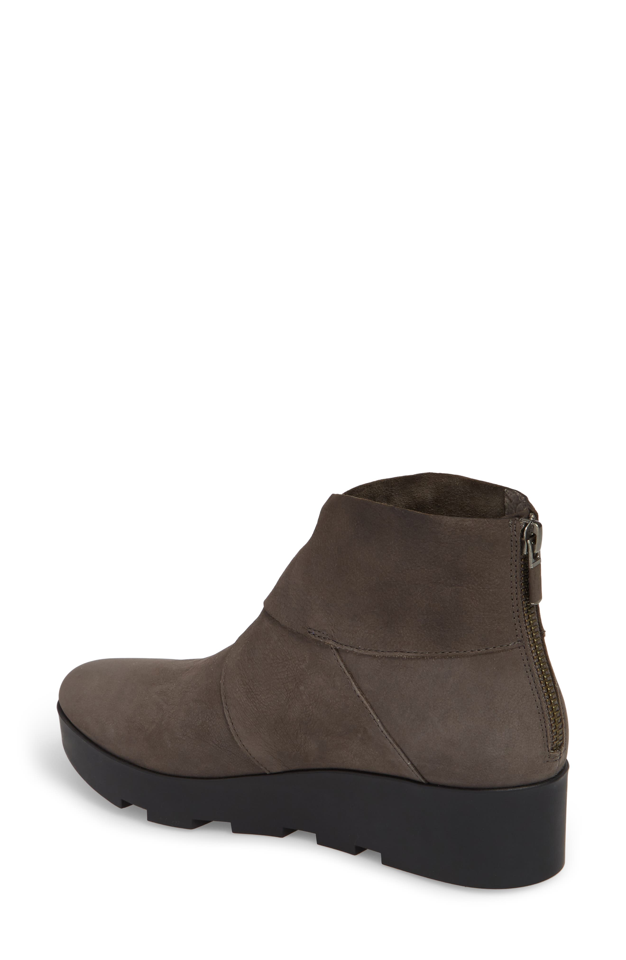 Tread Wedge Bootie,                             Alternate thumbnail 2, color,                             Graphite Nubuck
