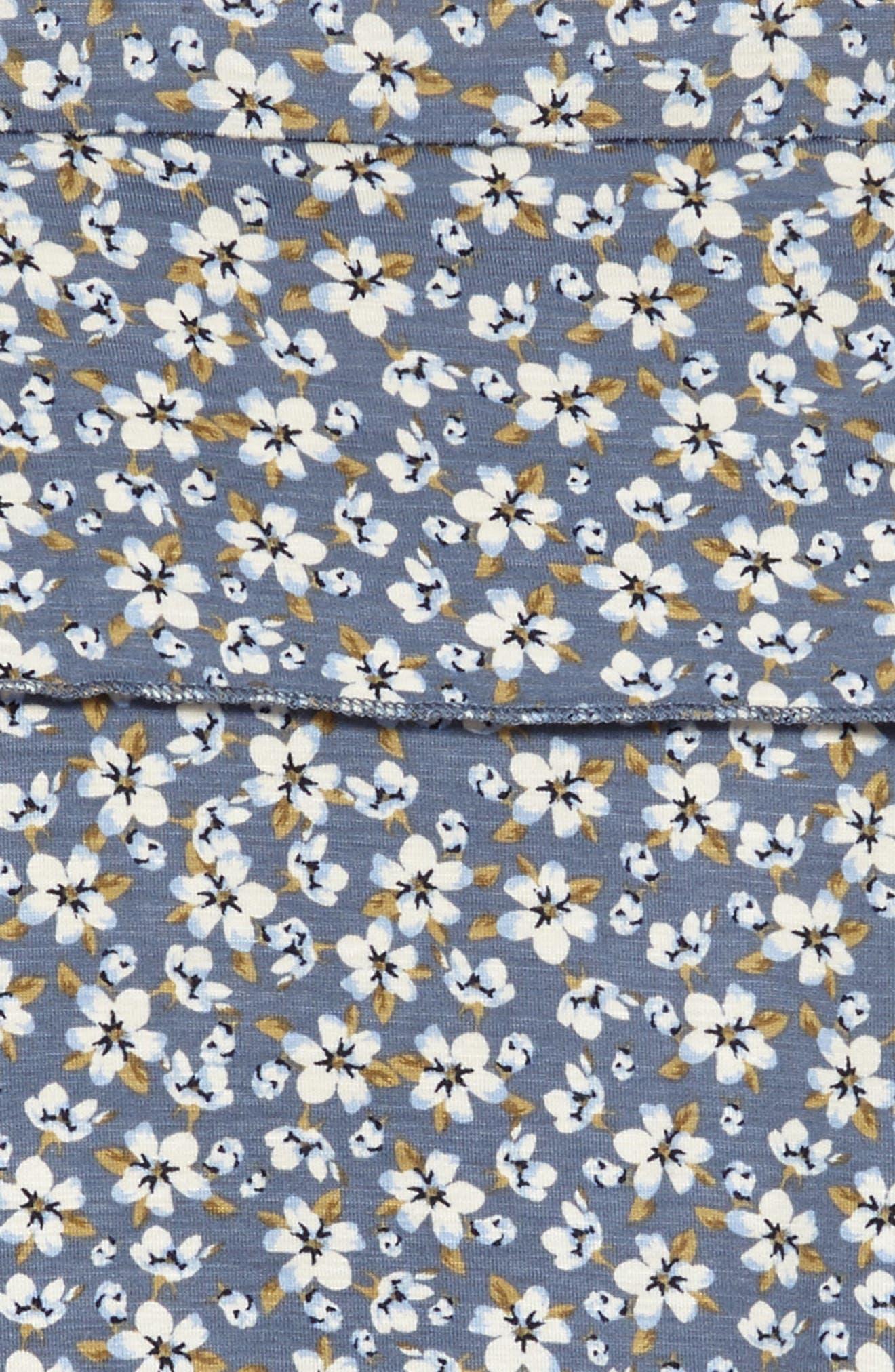 Julia Cold Shoulder Dress,                             Alternate thumbnail 3, color,                             Flint Ston