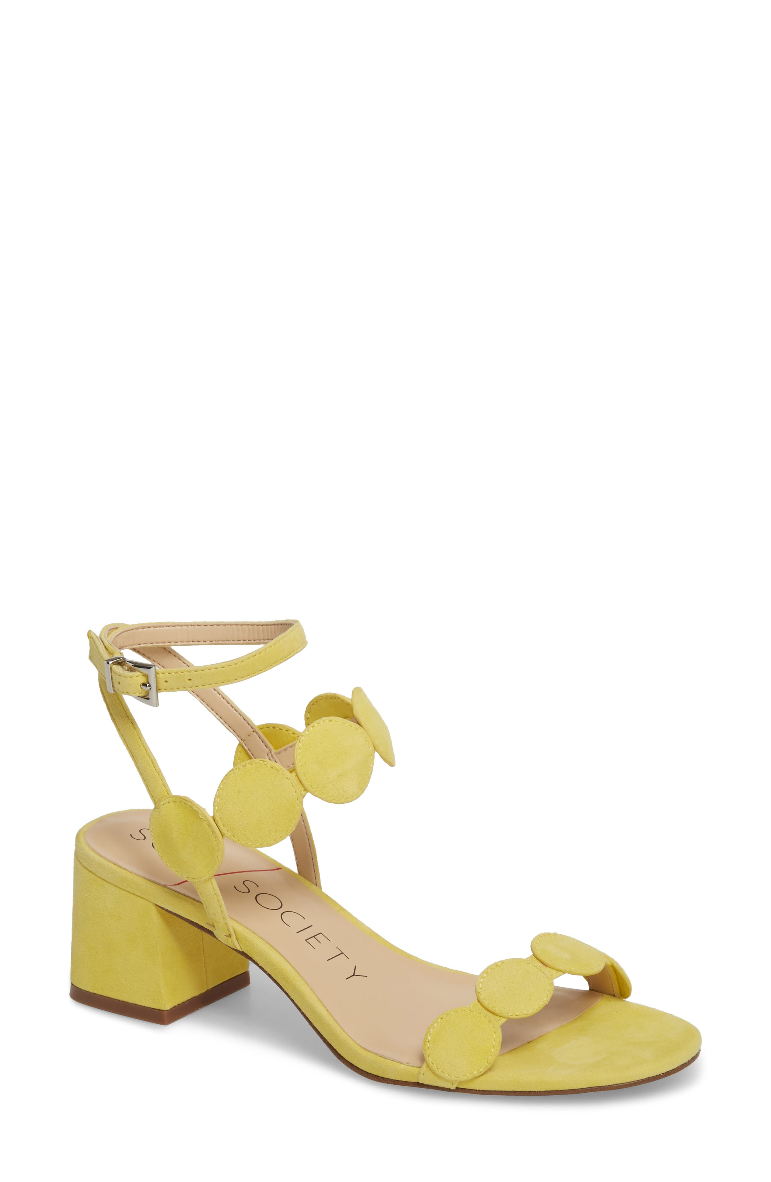 Alternate Image 1 Selected - Sole Society Shea Block Heel Sandal (Women)