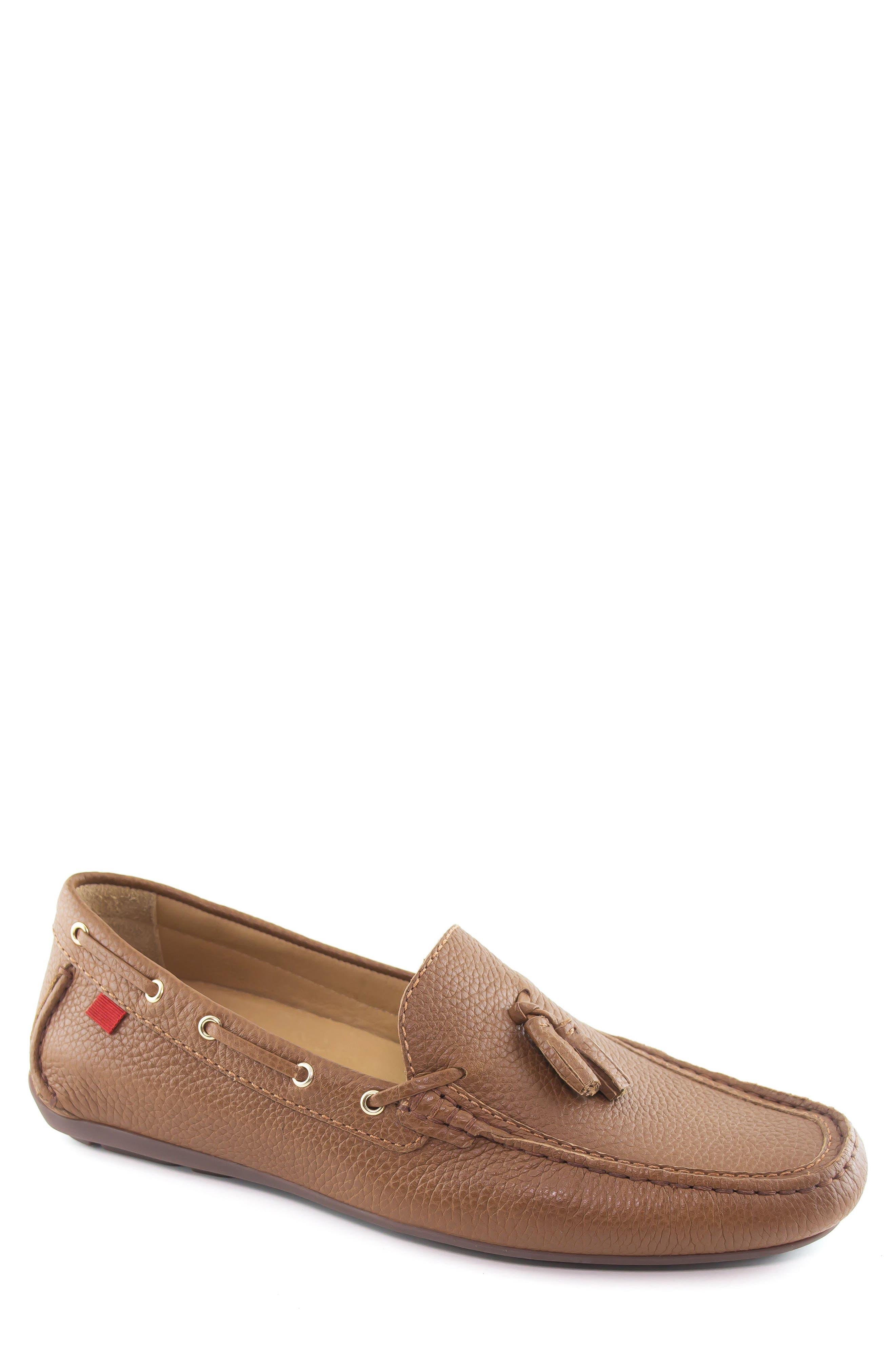 Bushwick Tasseled Driving Loafer,                             Main thumbnail 1, color,                             Cognac