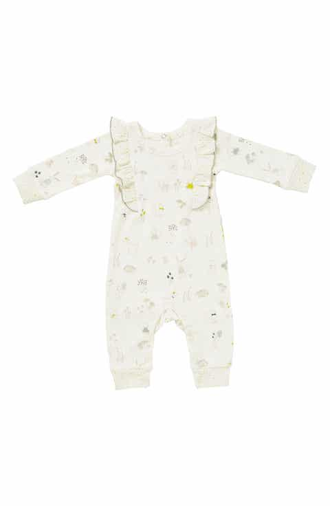 Organic baby clothes nordstrom petit pehr magical forest romper baby girls negle Gallery