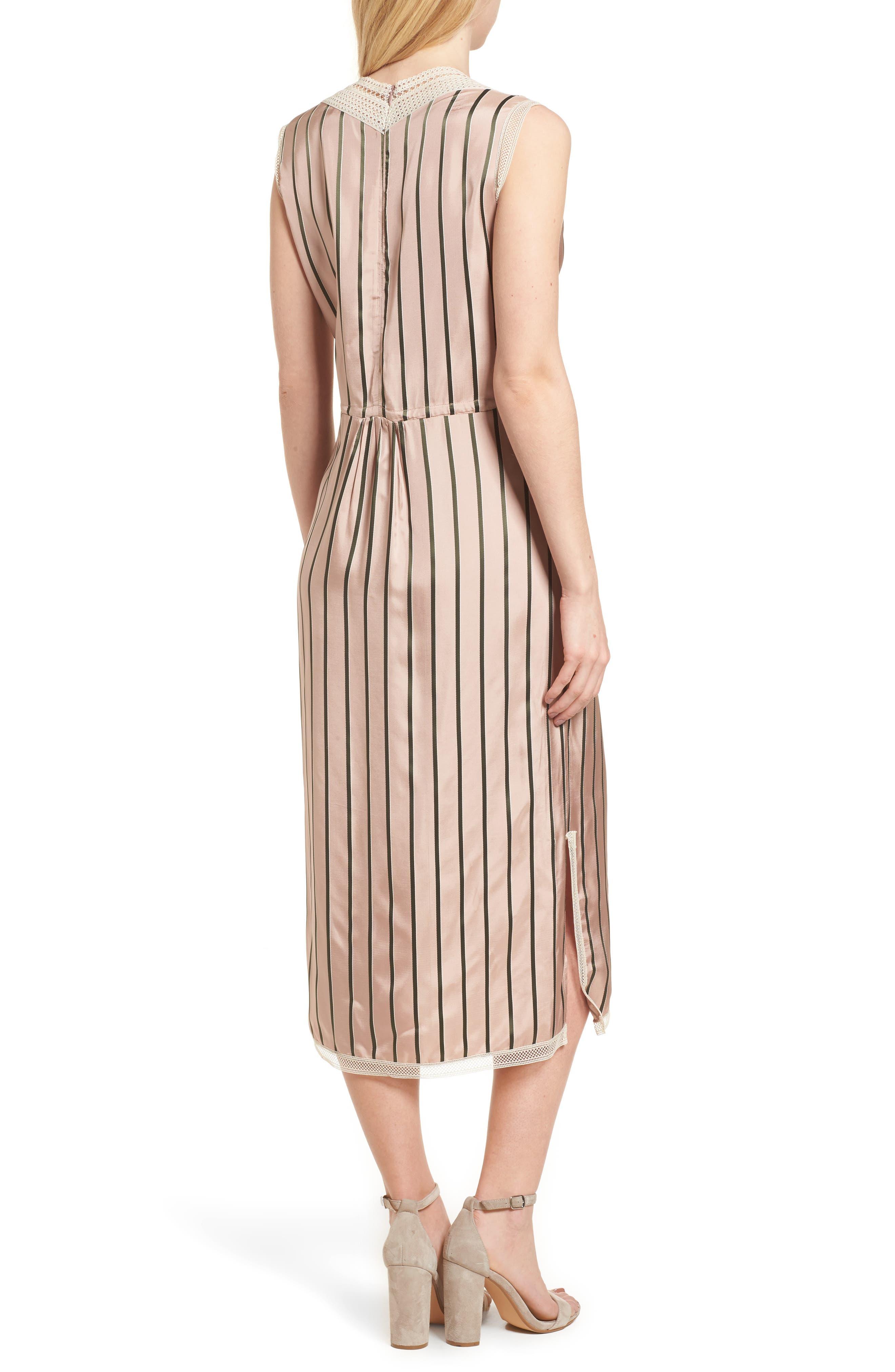 Cosway Dress,                             Alternate thumbnail 2, color,                             Salmon