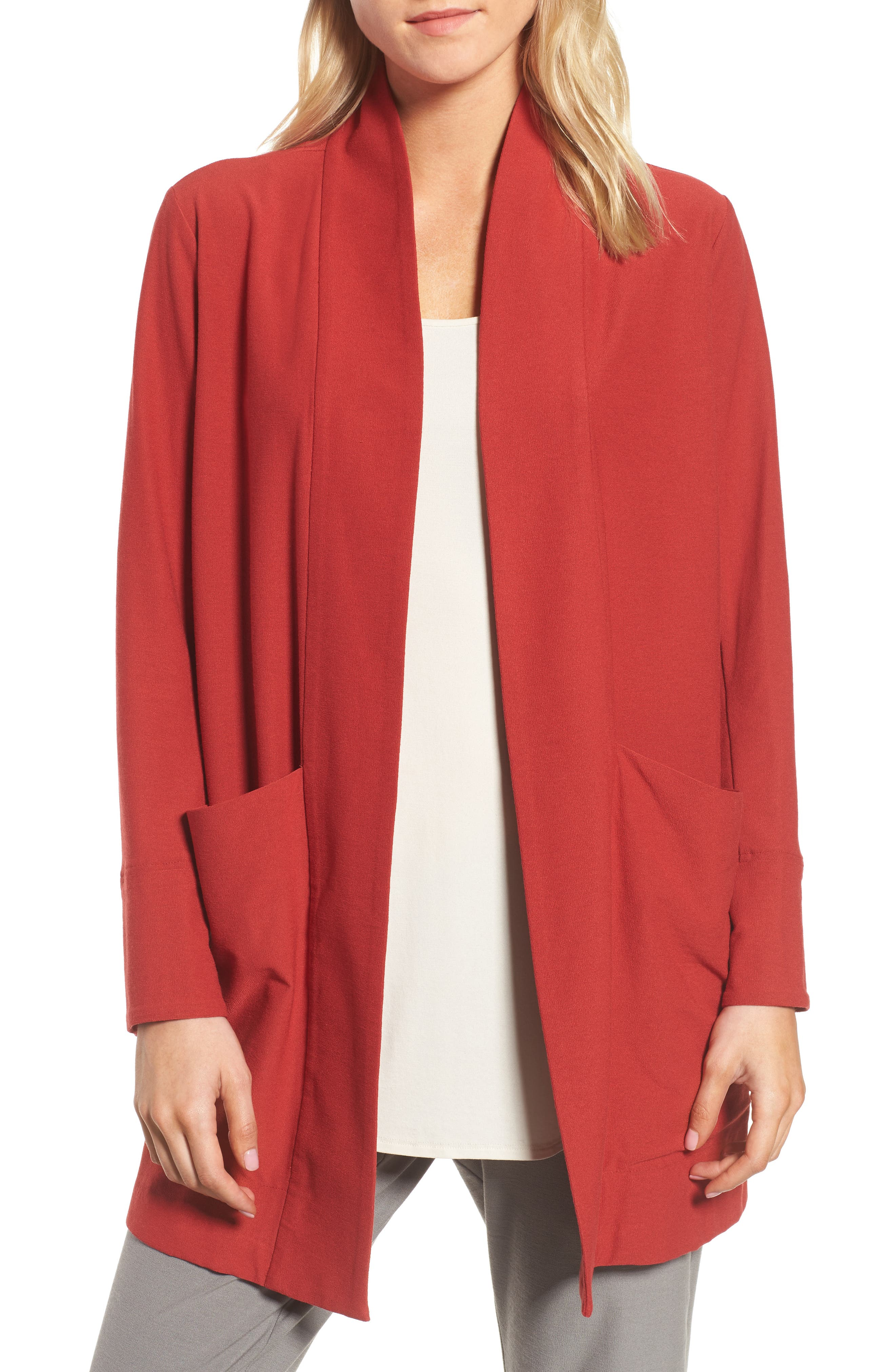 Eileen Fisher Kimono Jacket (Regular & Petite)