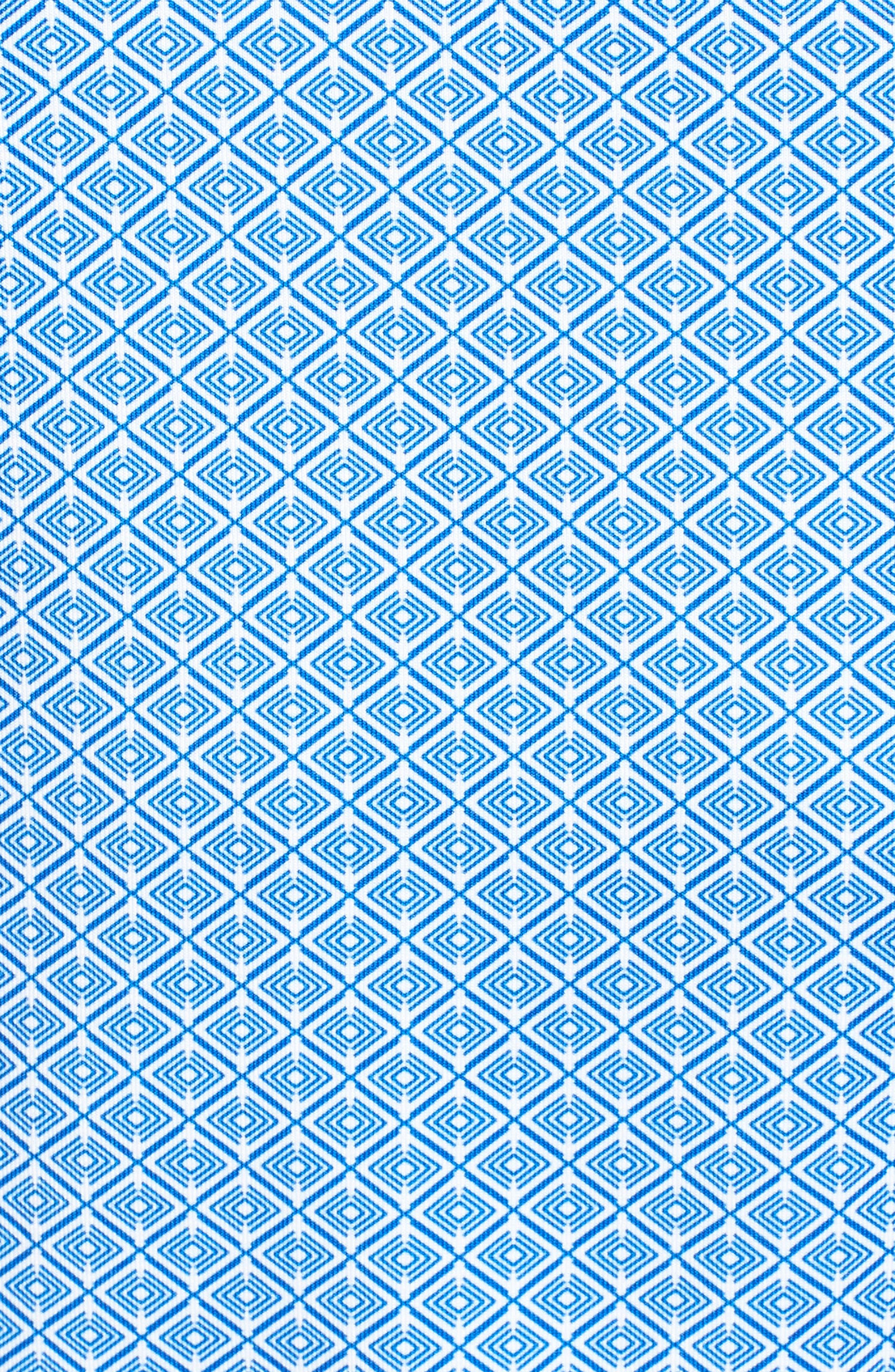 Passage Print DryTec Polo,                             Alternate thumbnail 5, color,                             Bolt