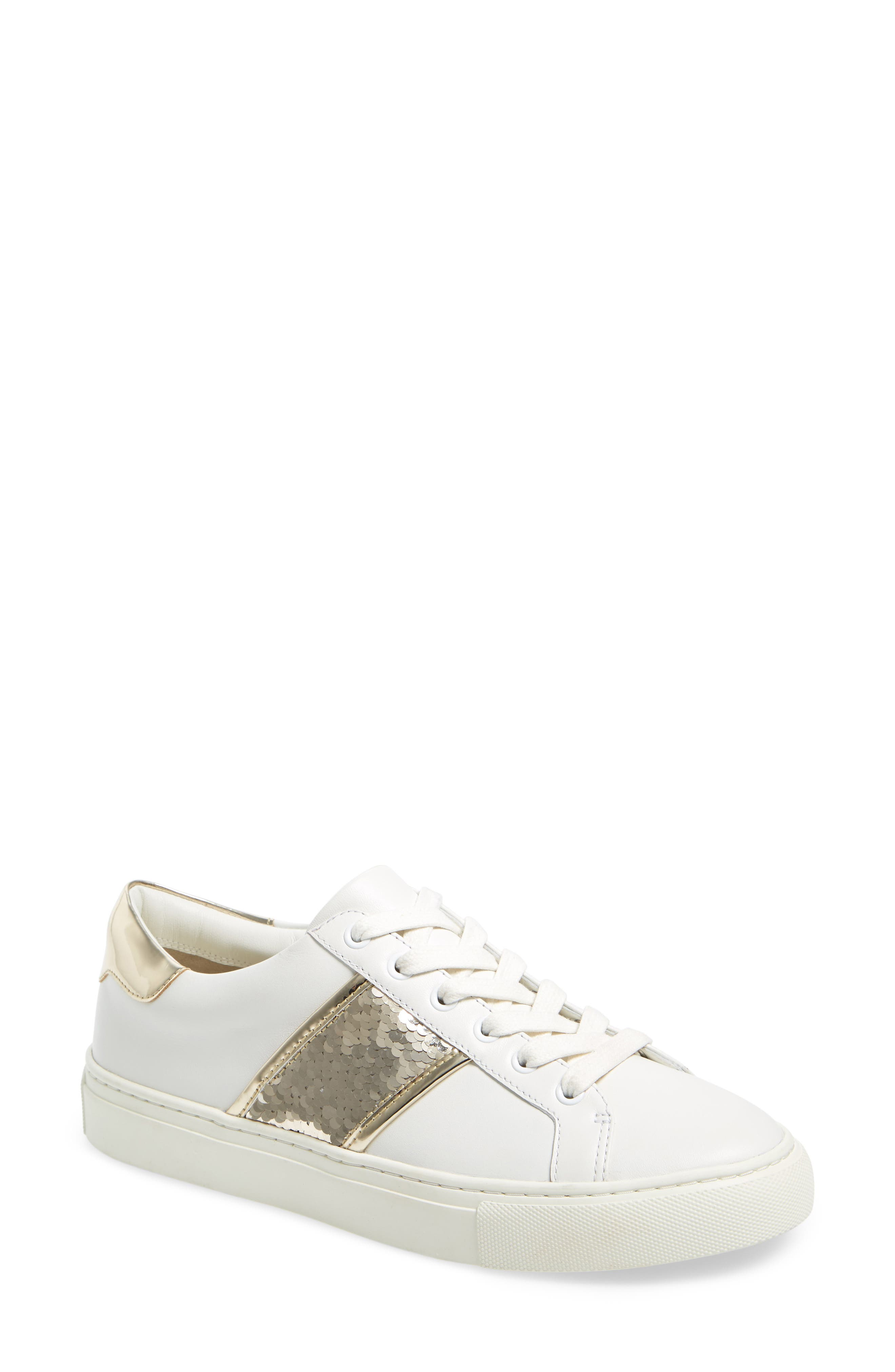 Tory Burch Carter Sequined Sneaker (Women)