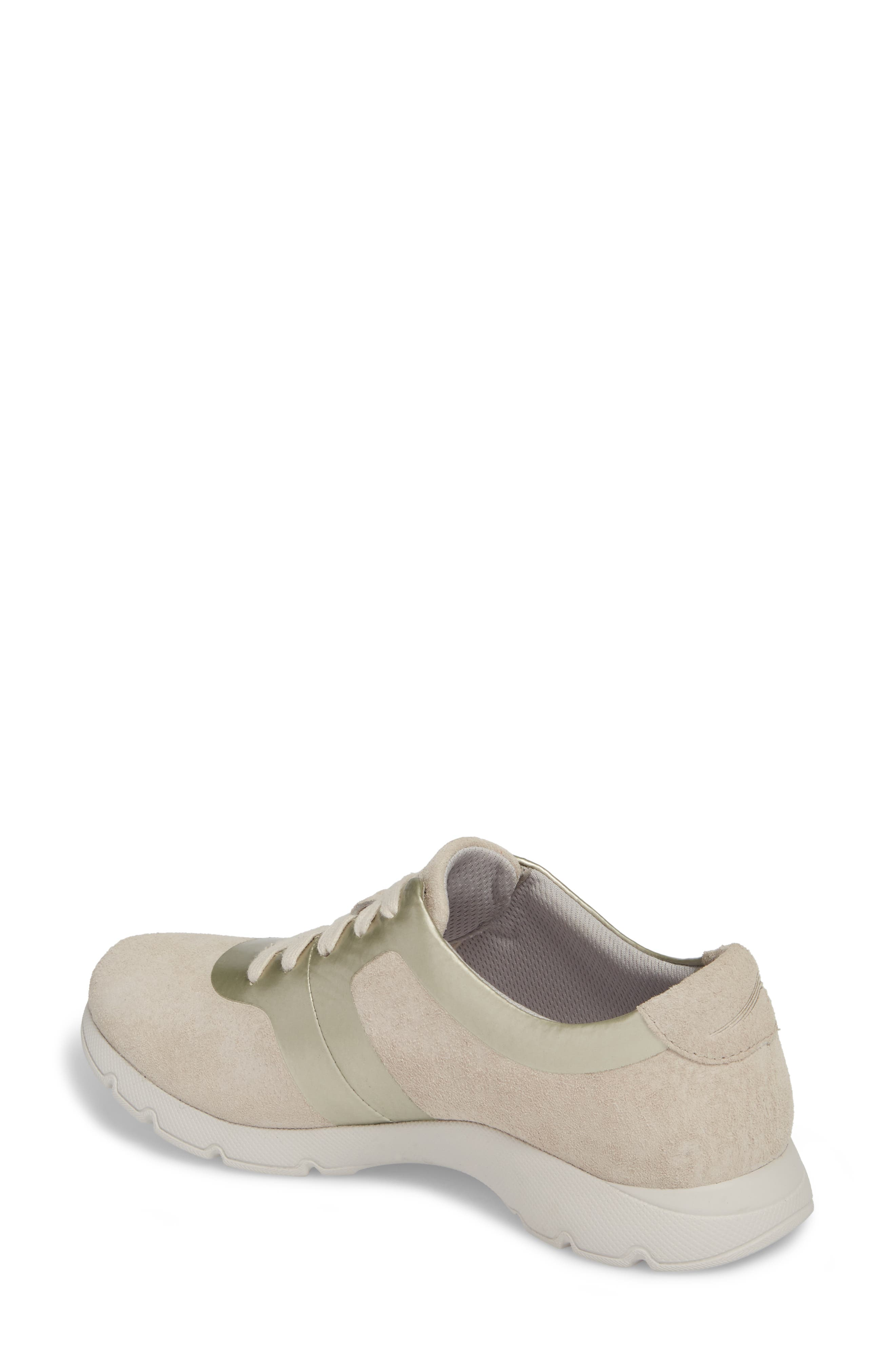 Andi Sneaker,                             Alternate thumbnail 2, color,                             Ivory Leather